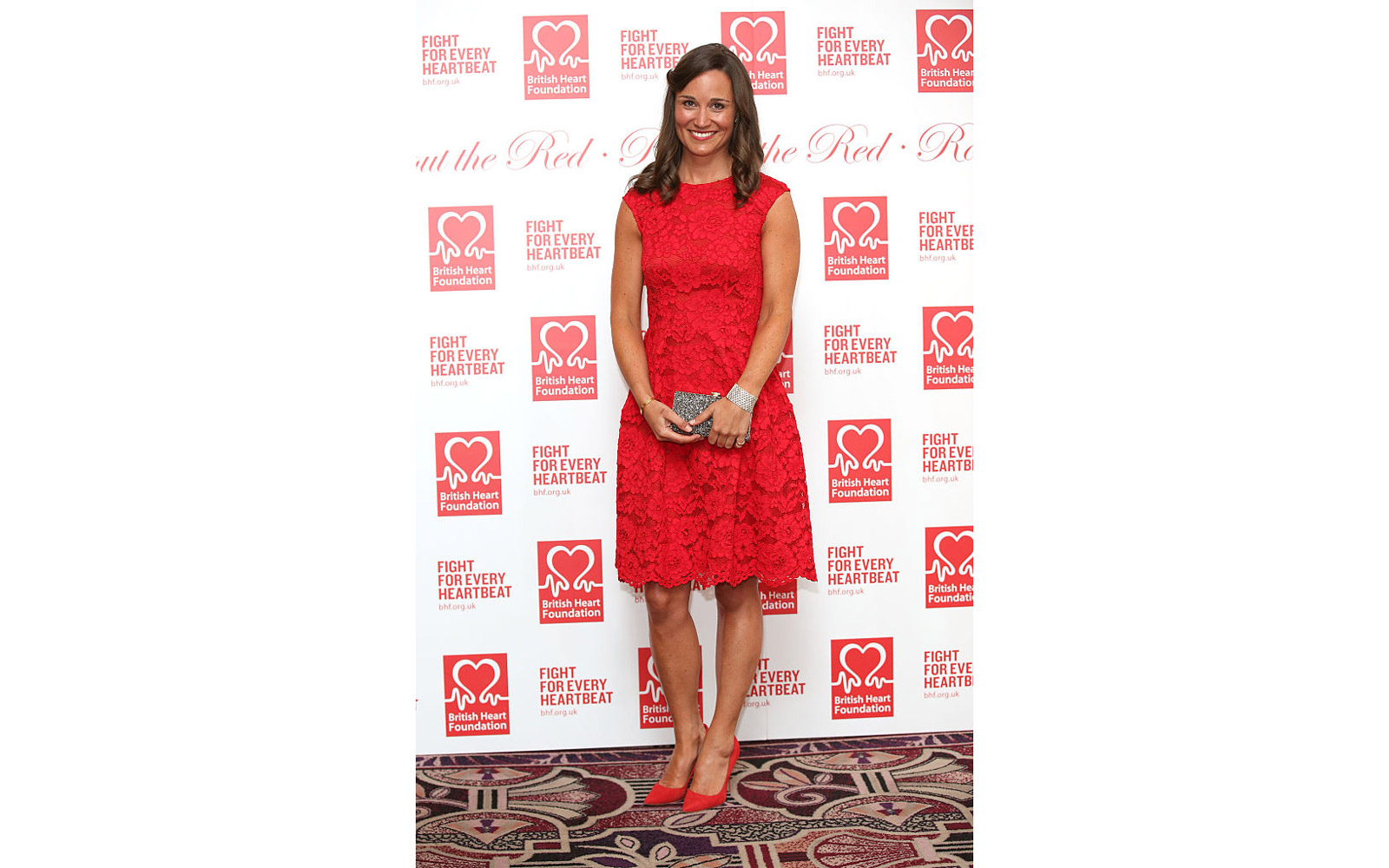LONDON, ENGLAND - FEBRUARY 10:  Pippa Middleton attends the British Heart Foundation's Roll Out The Red Ball at Park Lane Hotel on February 10, 2015 in London, England.  (Photo by Tim P. Whitby/Getty Images)