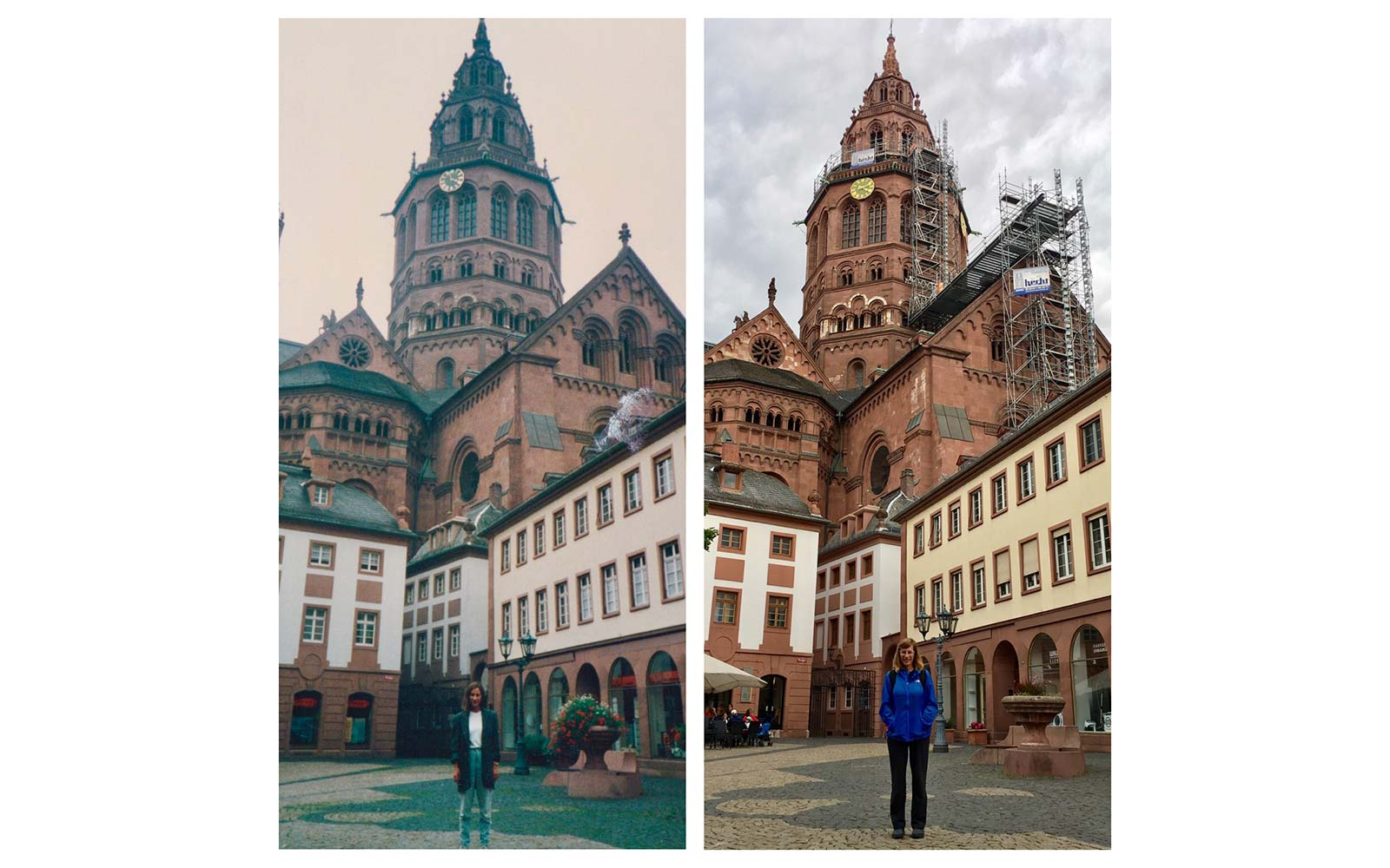 Lisa Werner Recreate Study Abroad Photos Mainz Germany
