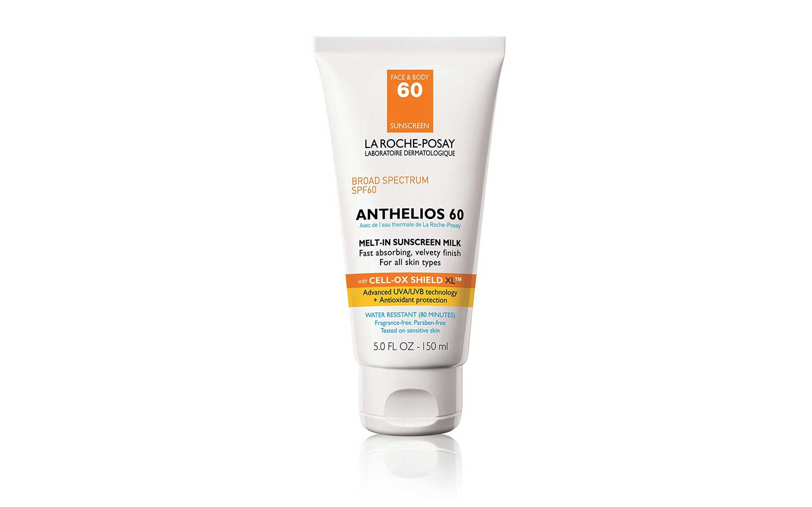 La Roche-Posay Anthelios 60 Body and Face Sunscreen Milk