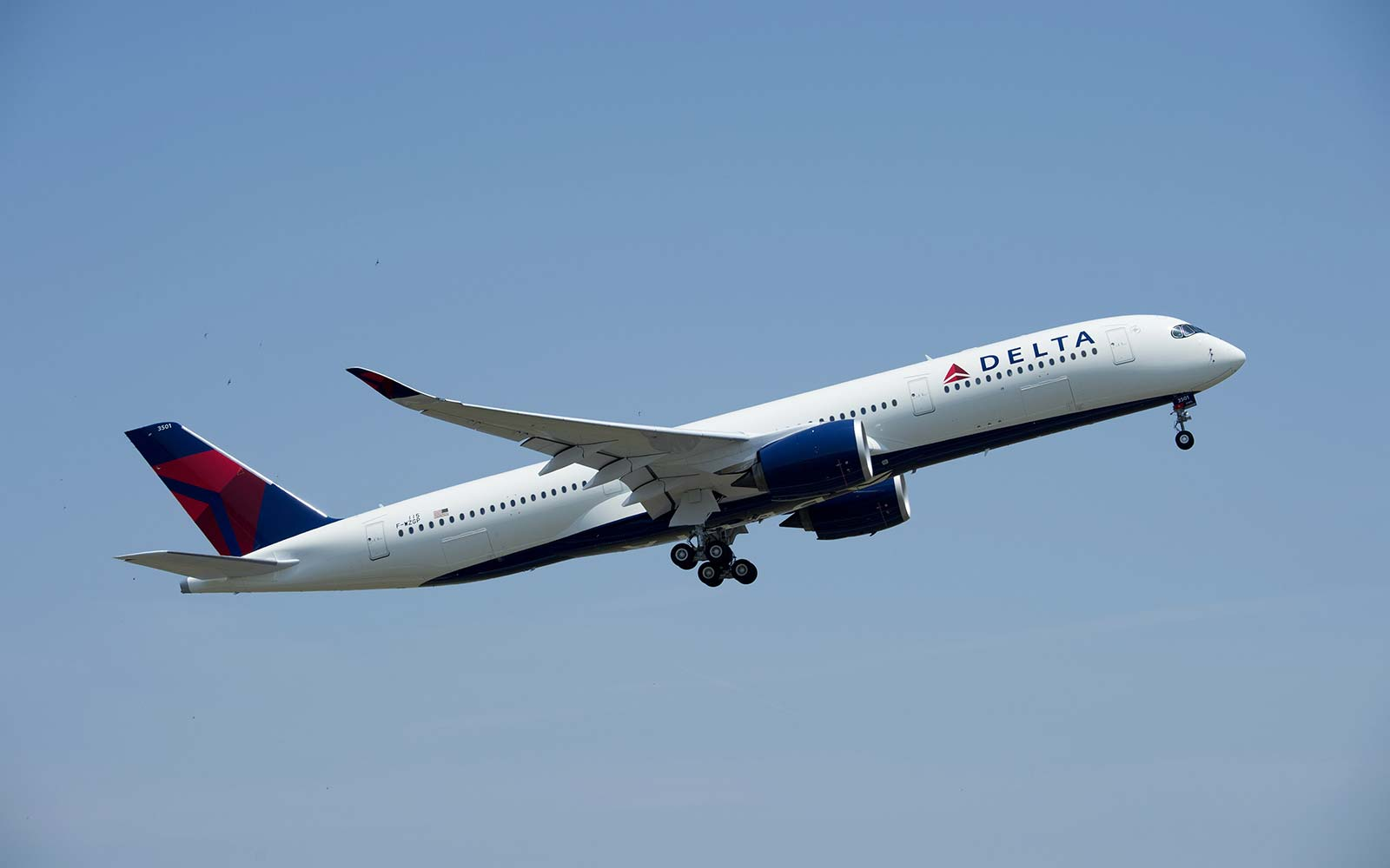 Delta Airlines Airbus A350 plane