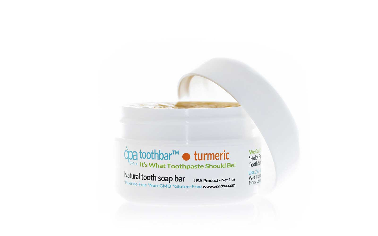 Opa Toothbar Turmeric Tooth Soap