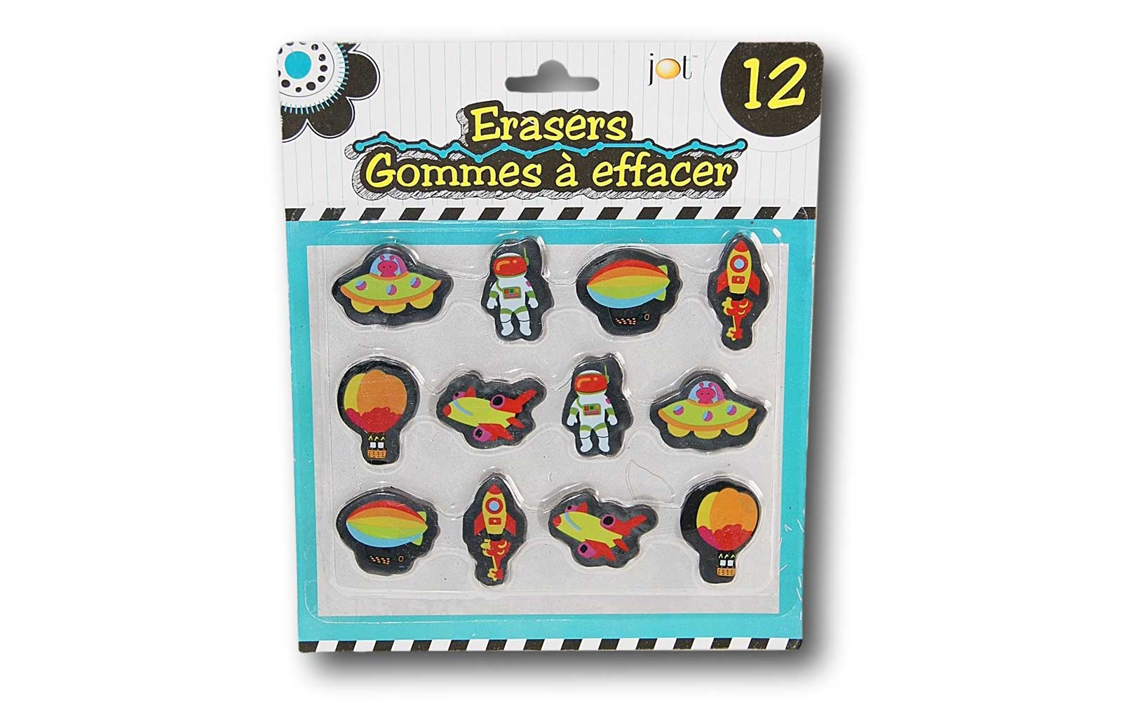 Fun Erasers for Back to School