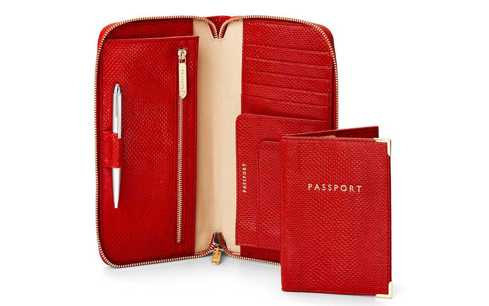 Travel Wallets and Passport Cases