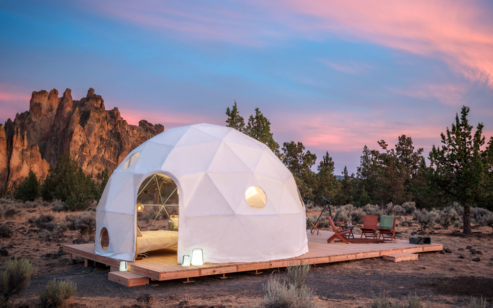 Airbnb is giving away a stay for the eclipse.