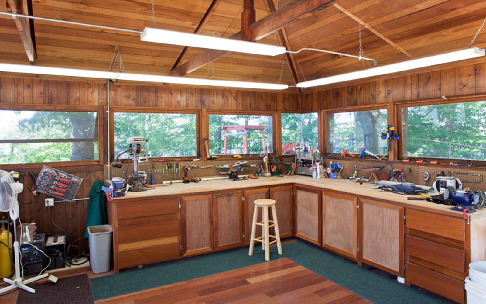 Frank Lloyd Wright Architecture Petra Island New York Massaro House Sale Guest House Workshop