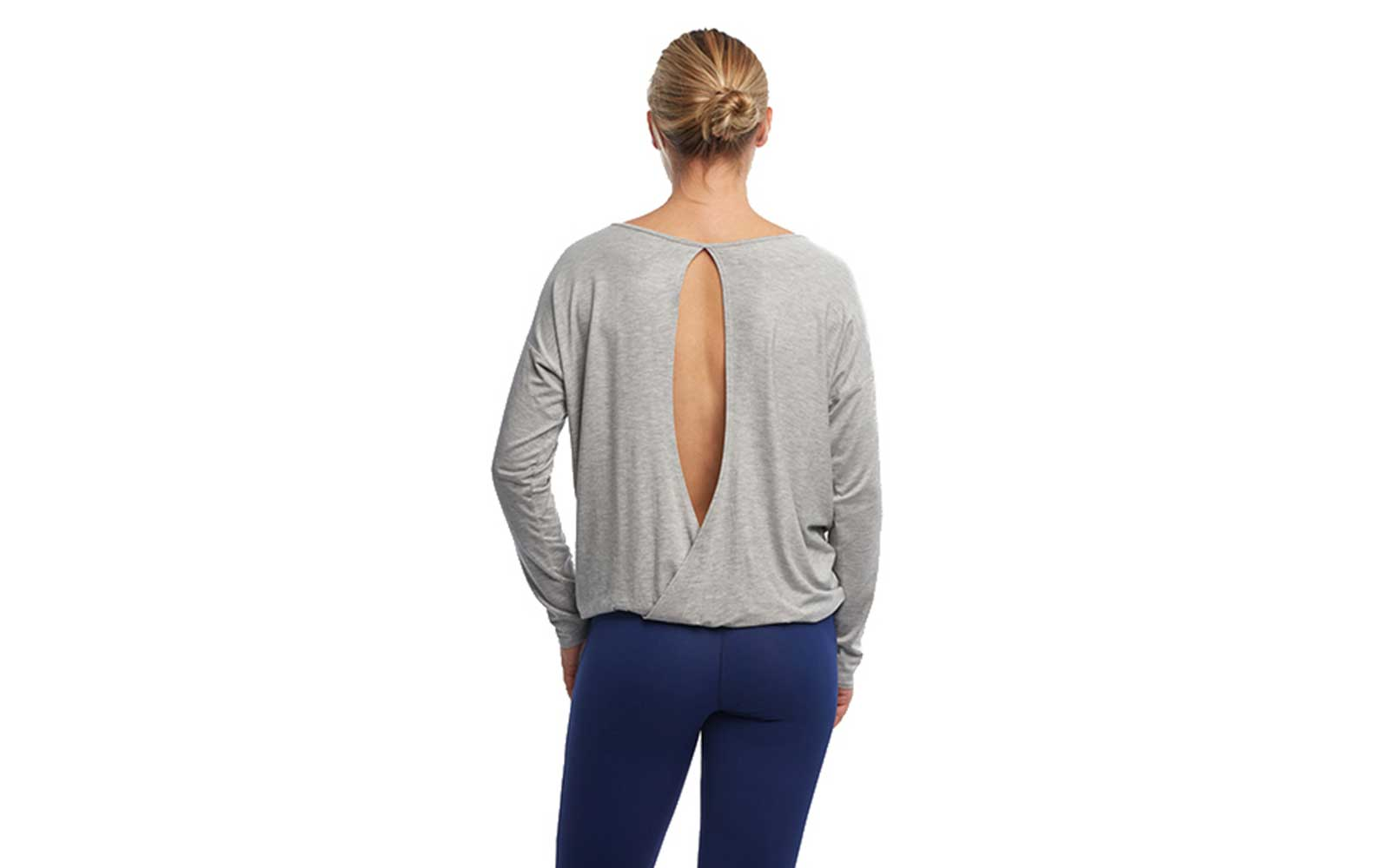 Haven Collective Yoga Chloe Open Back Top