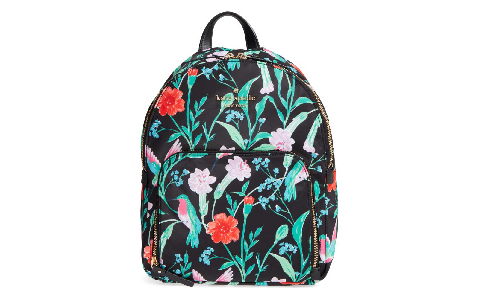 Tropical Print Backpack
