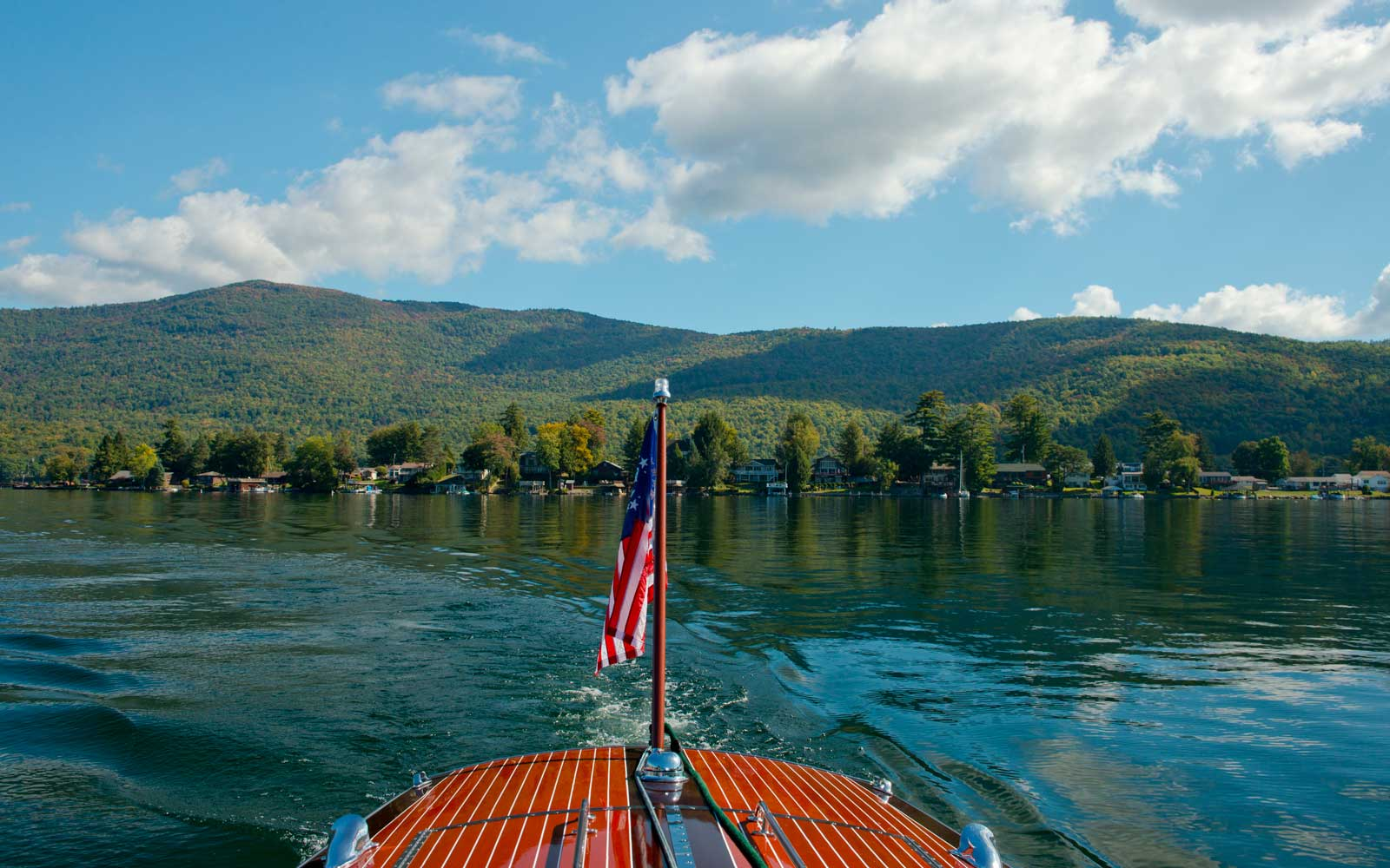 Lake George; The Adirondack Mountains, New York State, U.S.A.