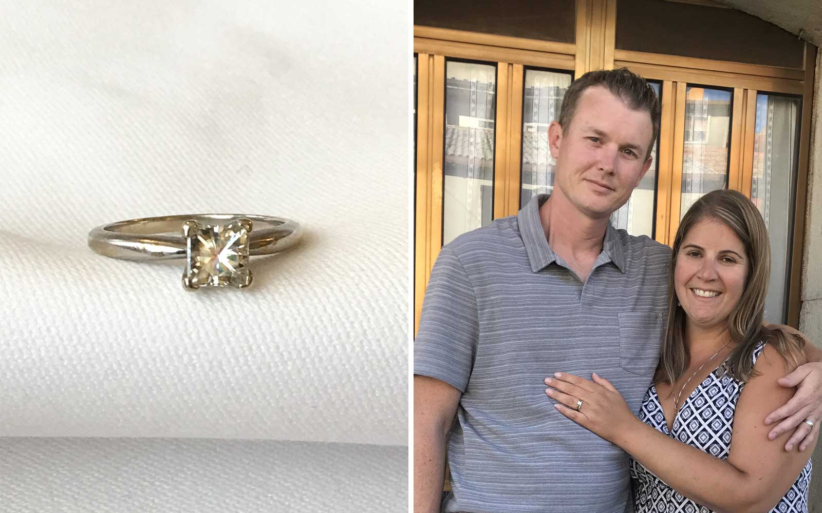 Justin Mussel Engagement Ring Found in Italy