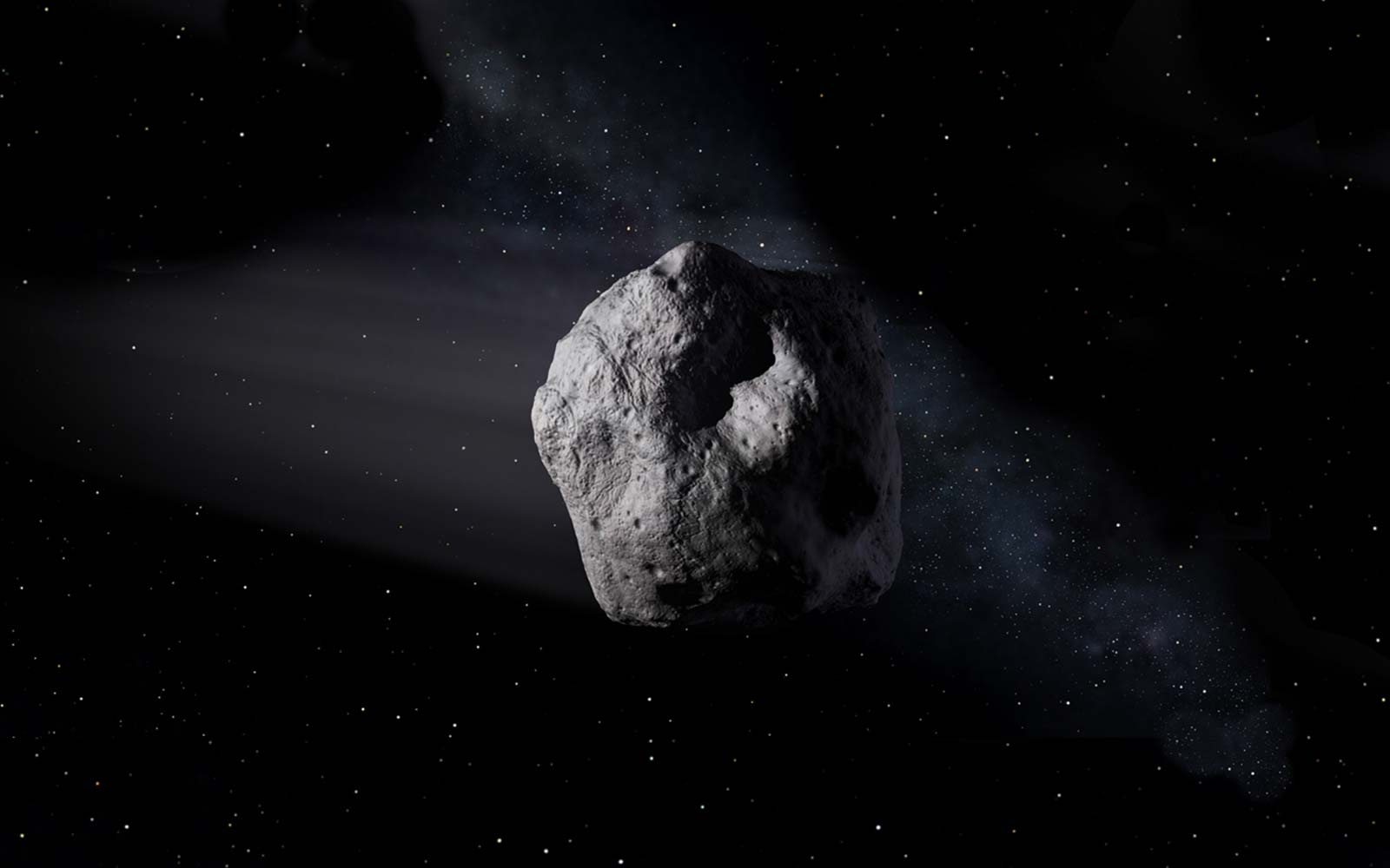 Asteroid Florence 3122 NASA Outer Space