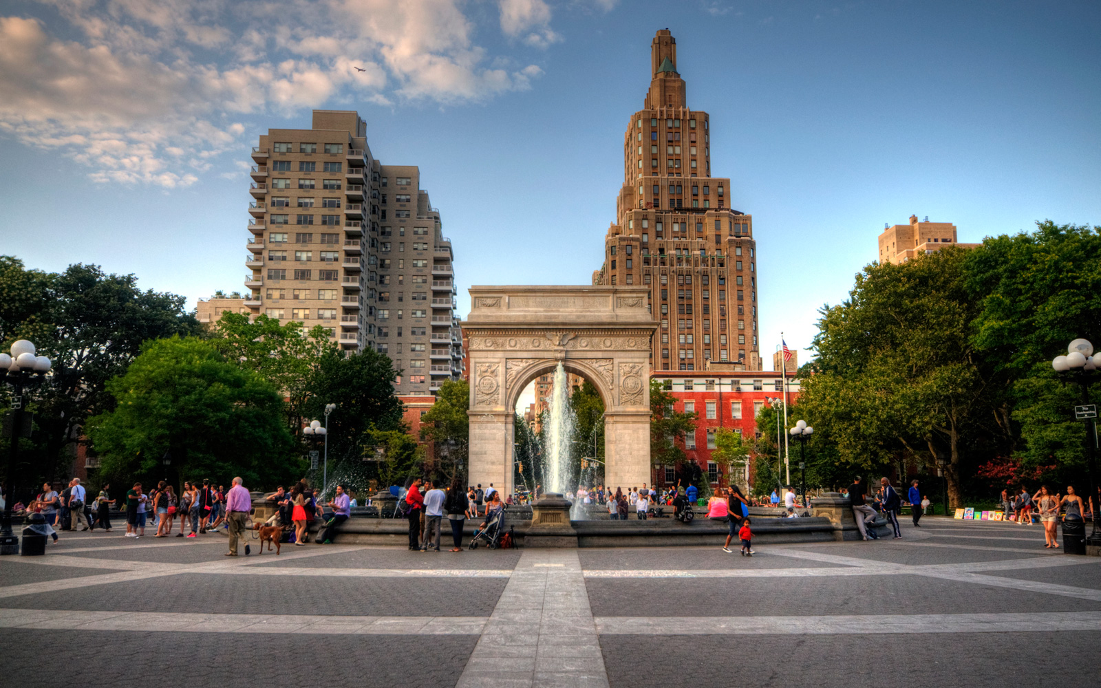 Washington Square Park, in New York City.