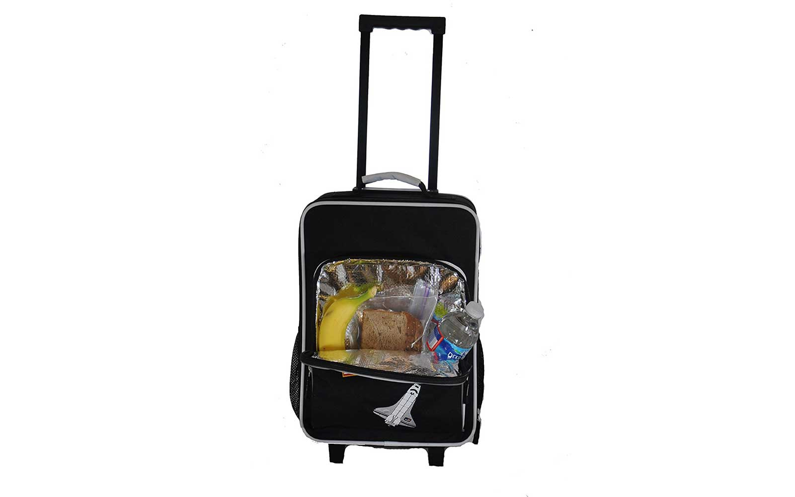 Suitcase with Snack Compartment