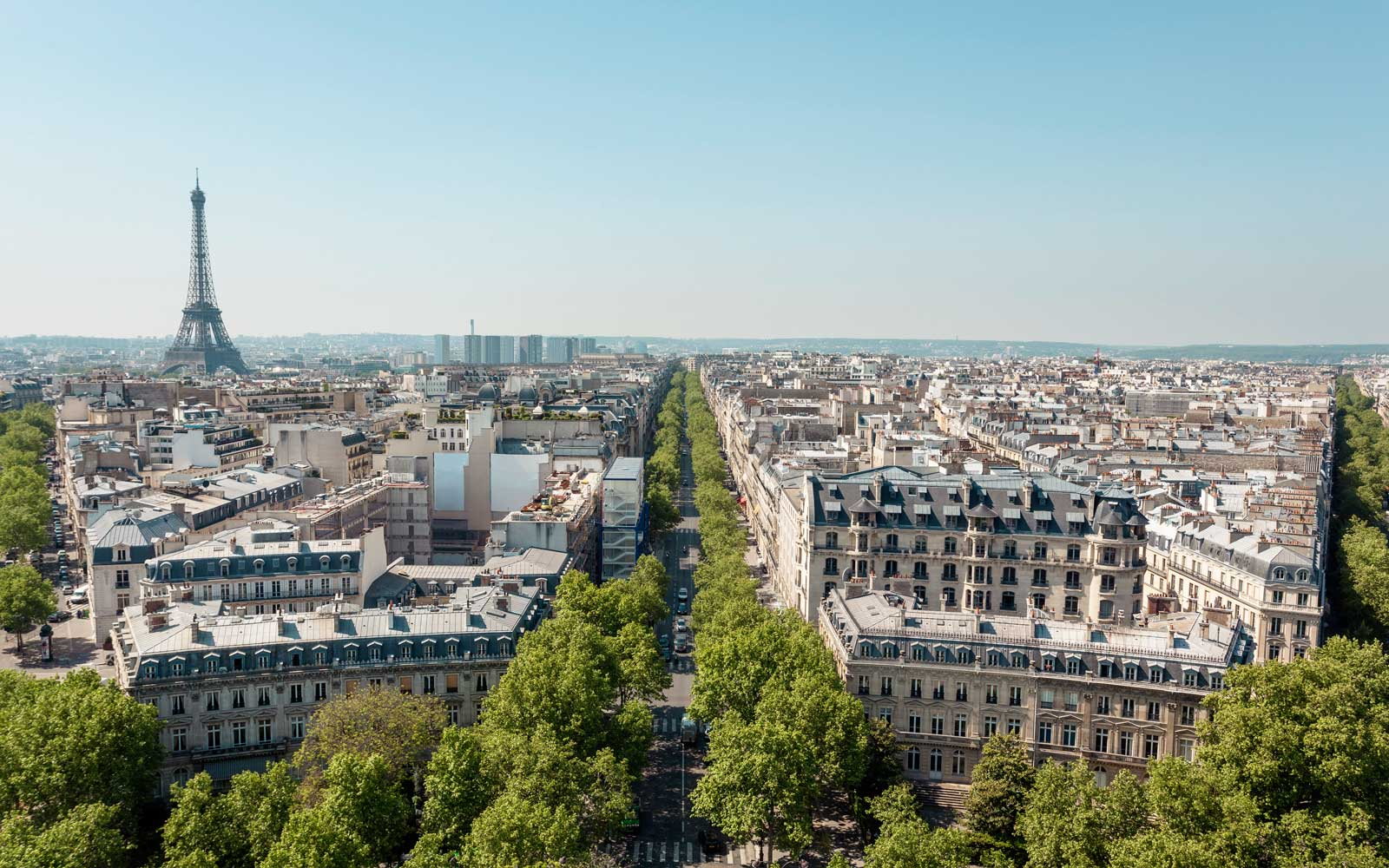 Paris, France Cityscape