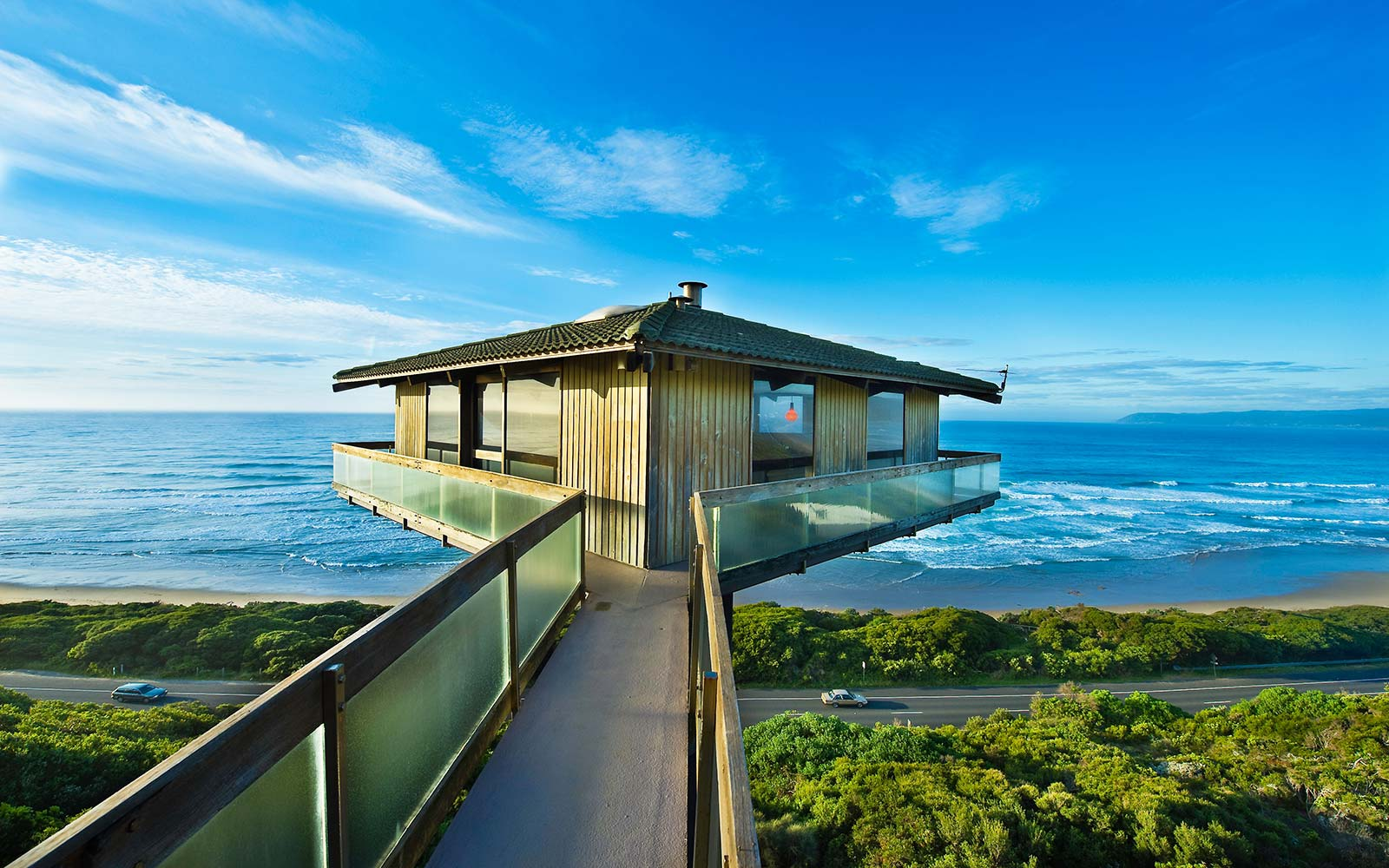 Australia, Victoria, Great Ocean Road, Great Otway National Park, Fairhaven, The Pole House, rental holiday house