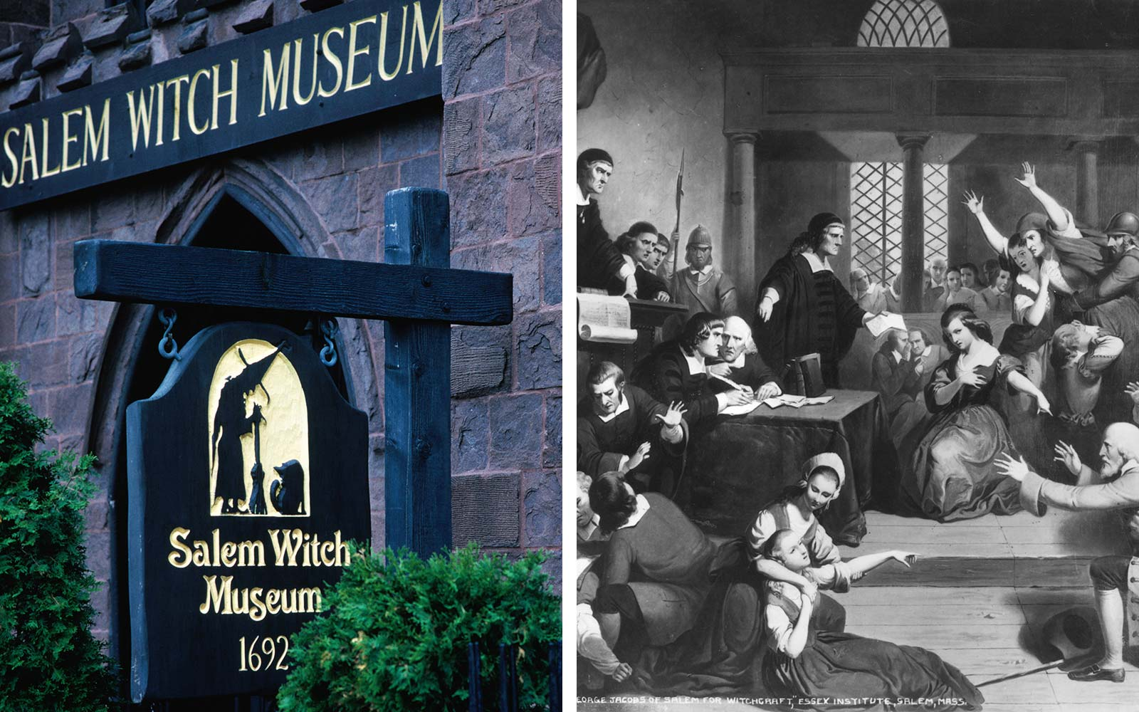 Salem Witch Trials Museum Massachusetts Magic Tourism
