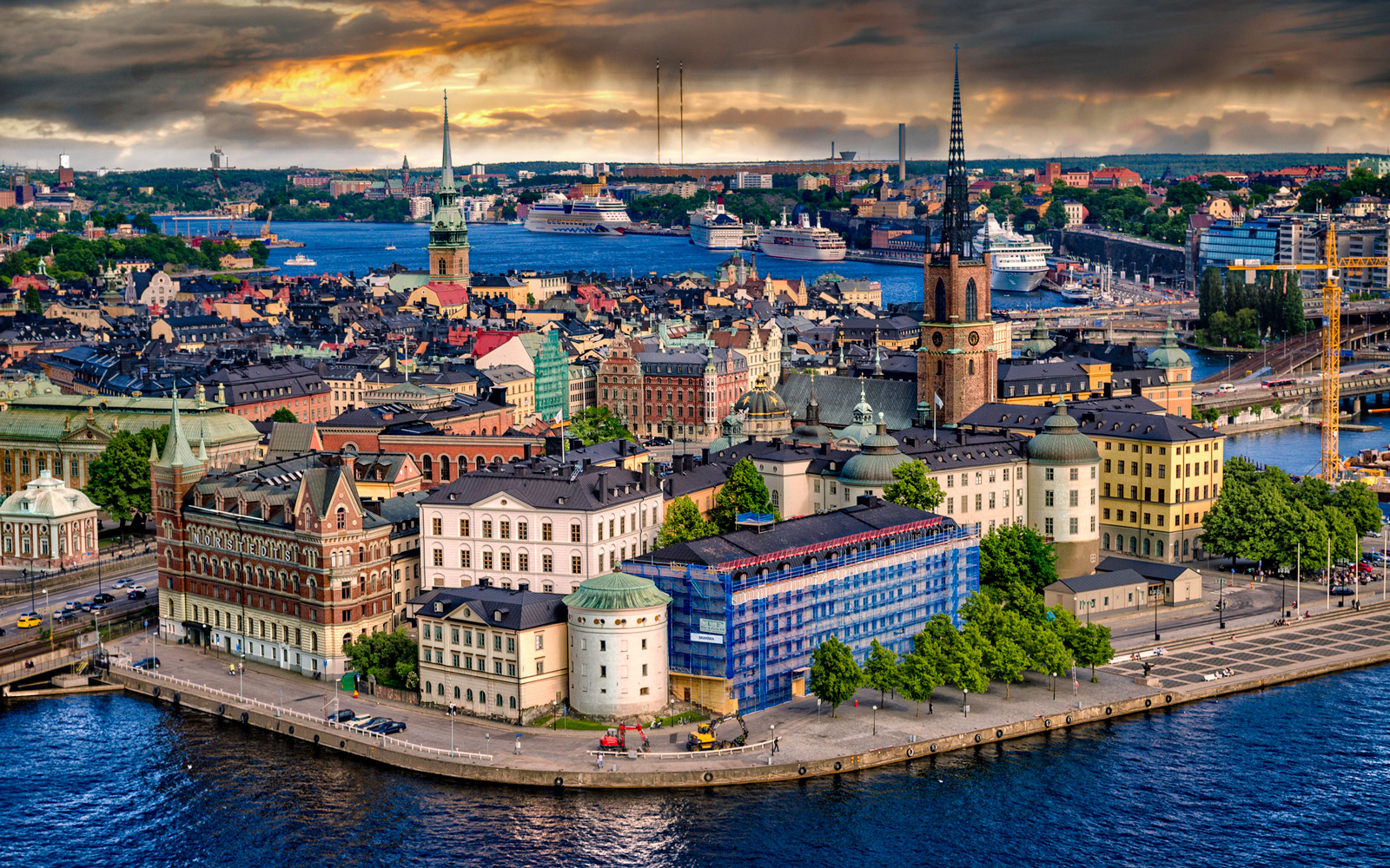 Cheap flights to Stockholm.