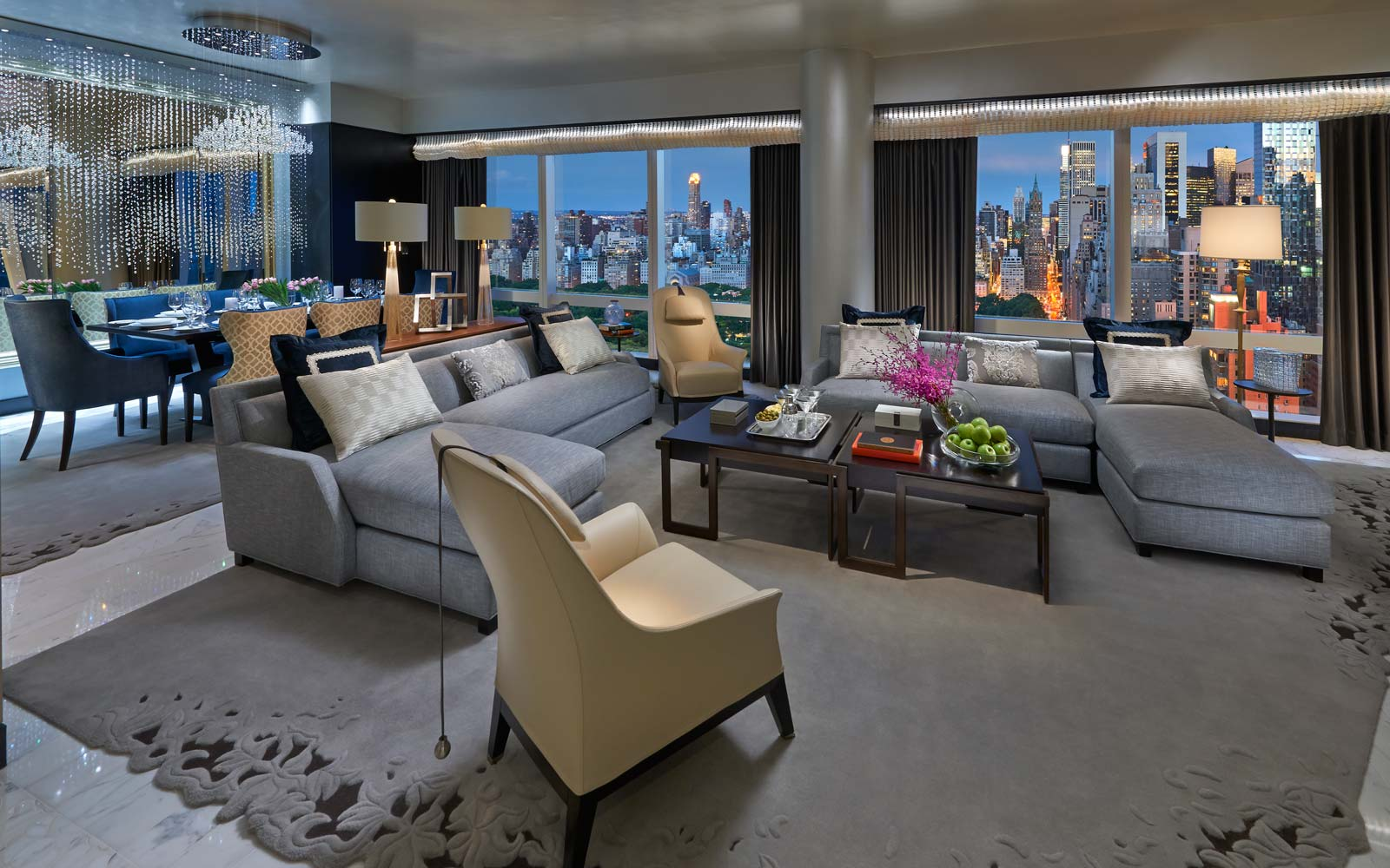 Suite 5000 at the Mandarin Oriental in New York City