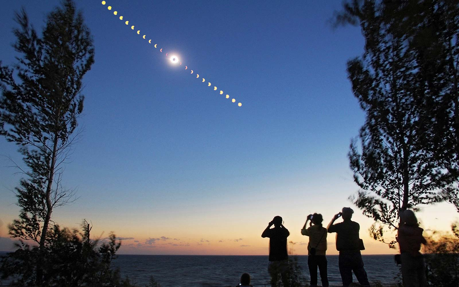 Total Solar Eclipse Viewing