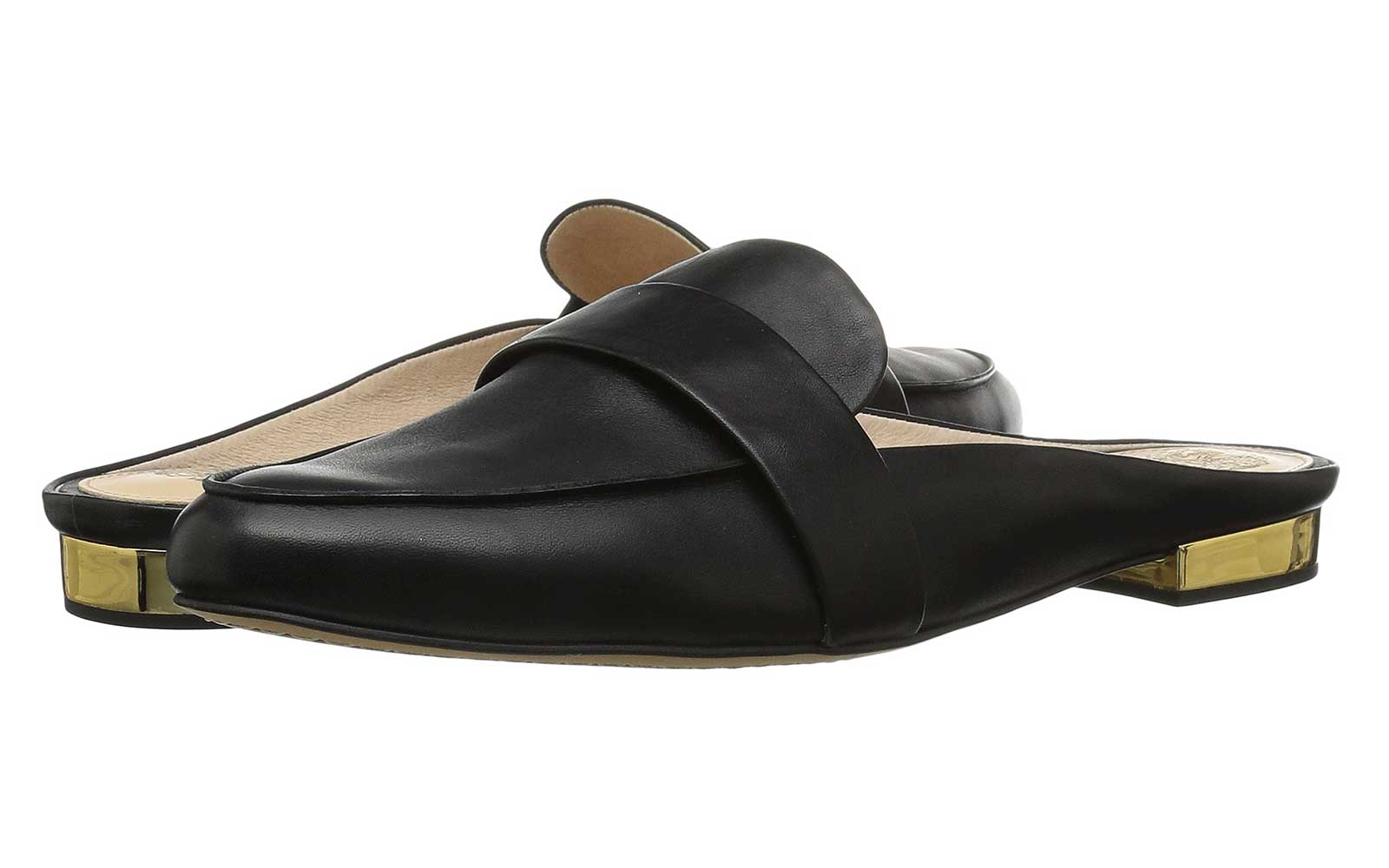 Black Slip-On Loafers