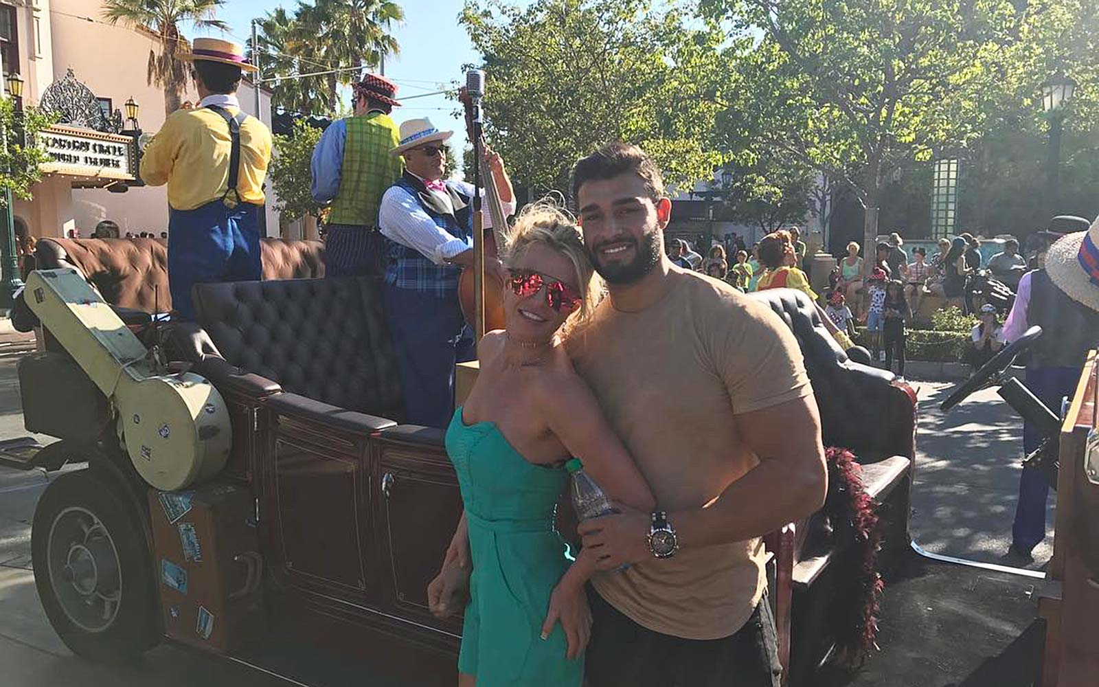 Britney Spears Disneyland California