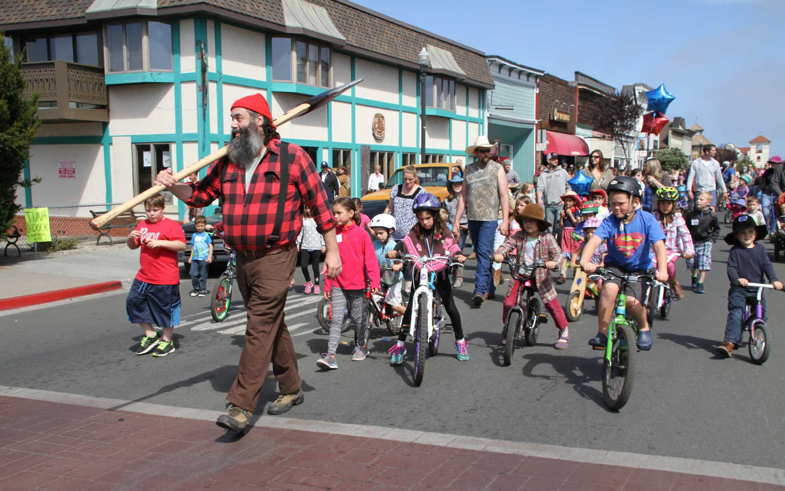 California's Paul Bunyan Days Festival