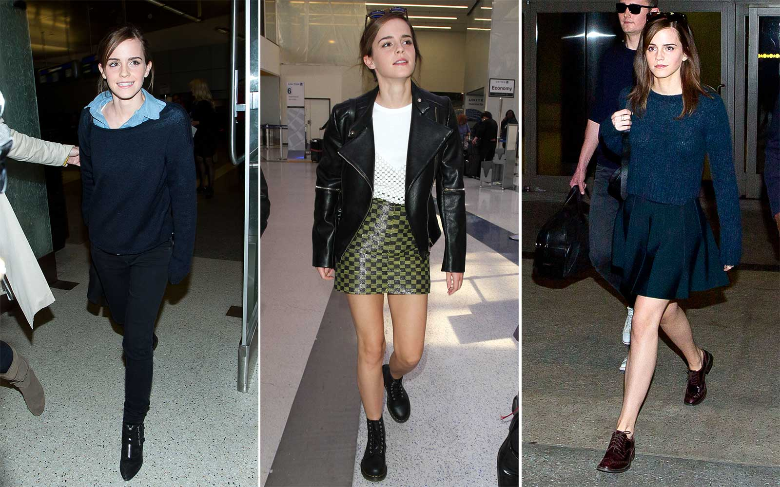 What Emma Watson Wears in the Fall