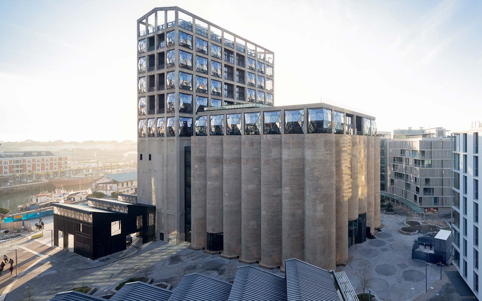 Zeitz Museum of Contemporary African Art Modern MOCAA Cape Town South Africa Silo Square Heatherwick Studio
