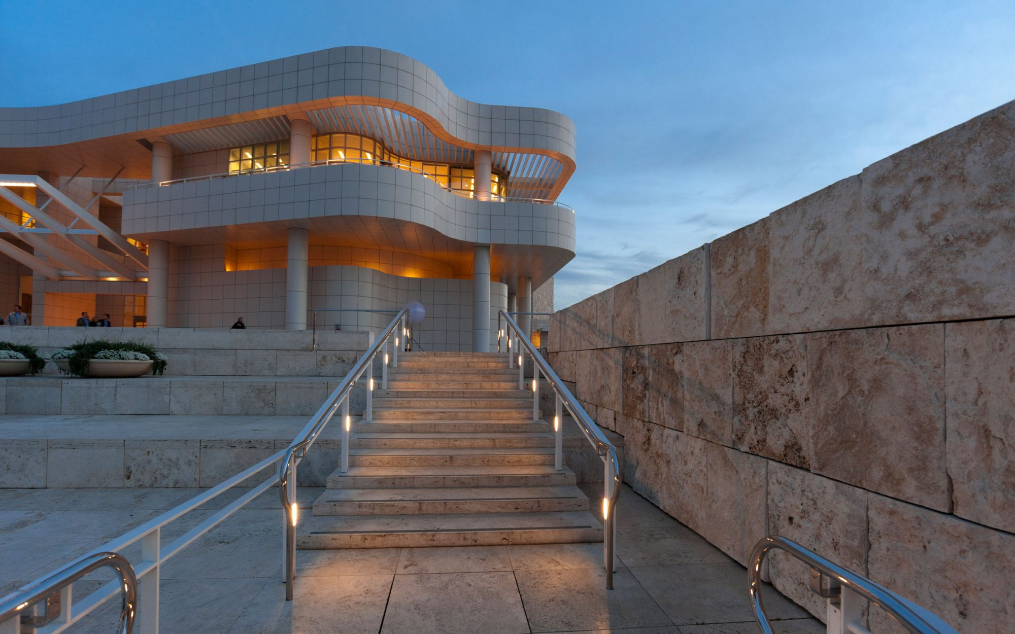 7. The Getty Center in Los Angeles, California