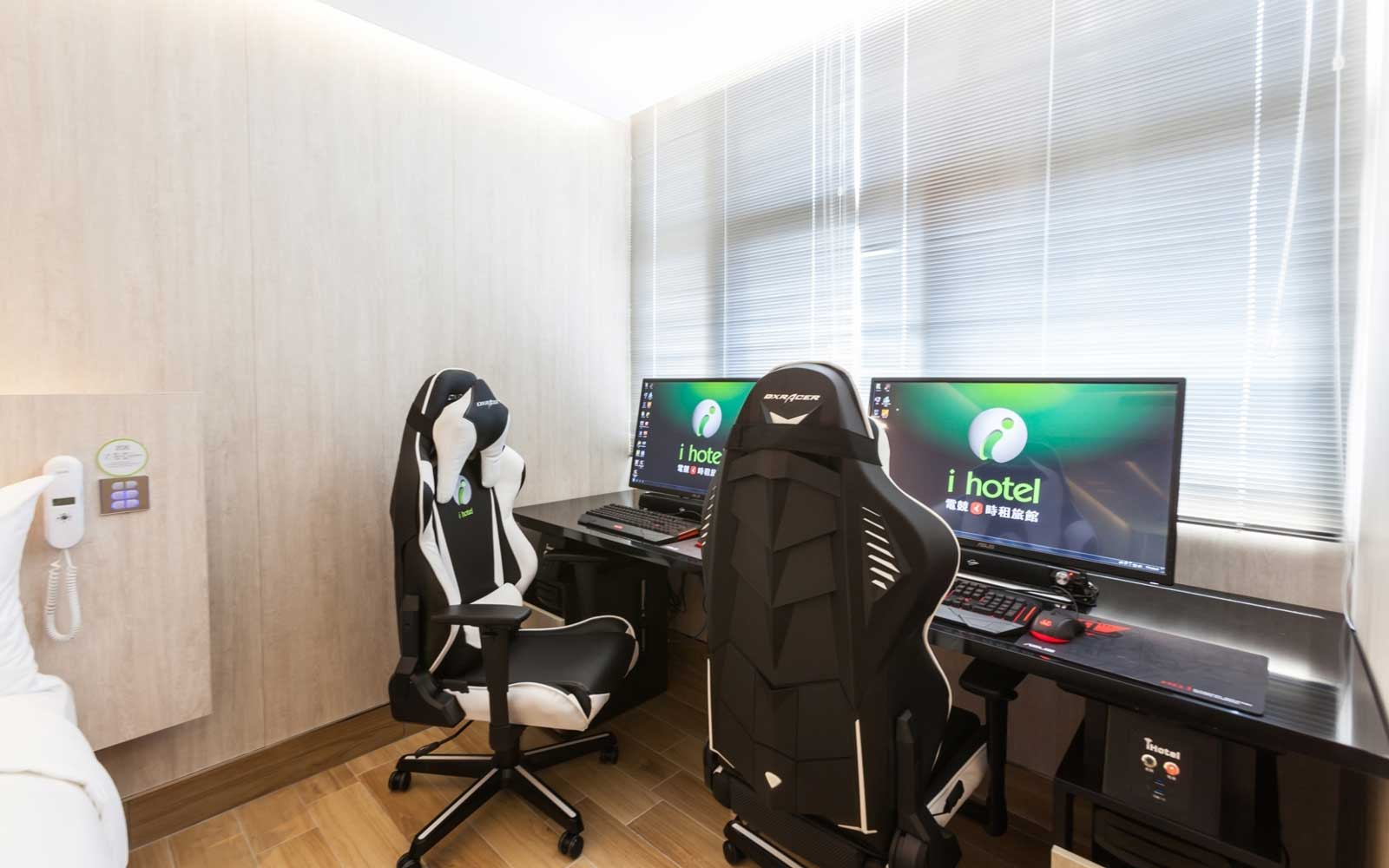 In-Room Gaming Stations