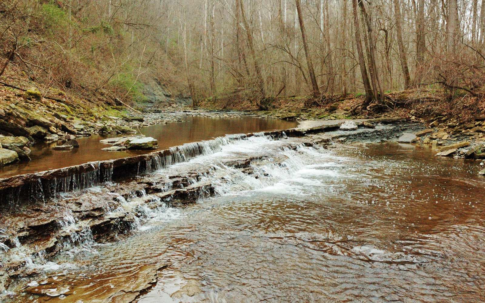 An unnamed waterfall in Clifty Falls State Park on the lower hiking trail in Southern Indiana.Some of my personal collections:
