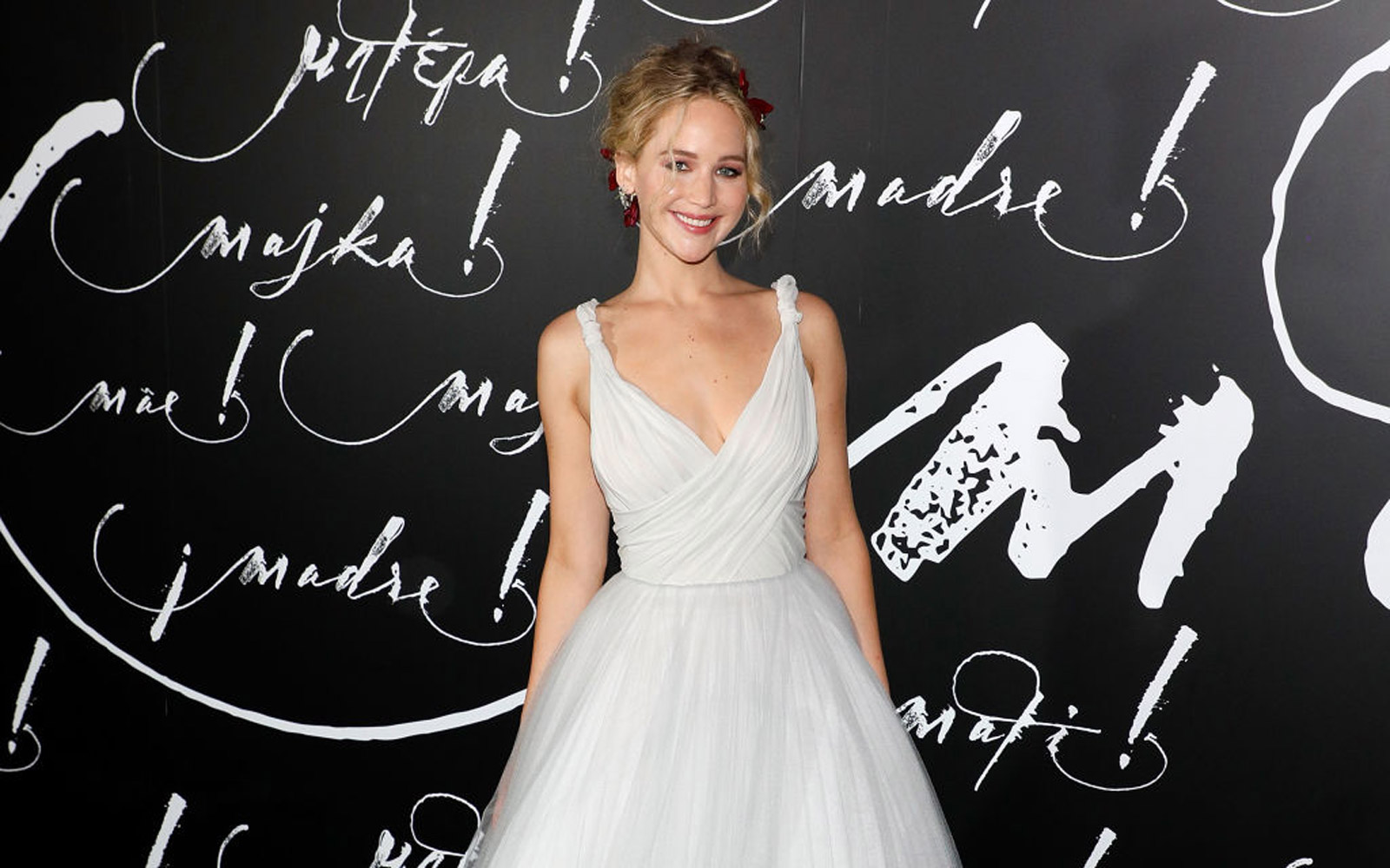 Jennifer Lawrence at the New York premiere of mother!