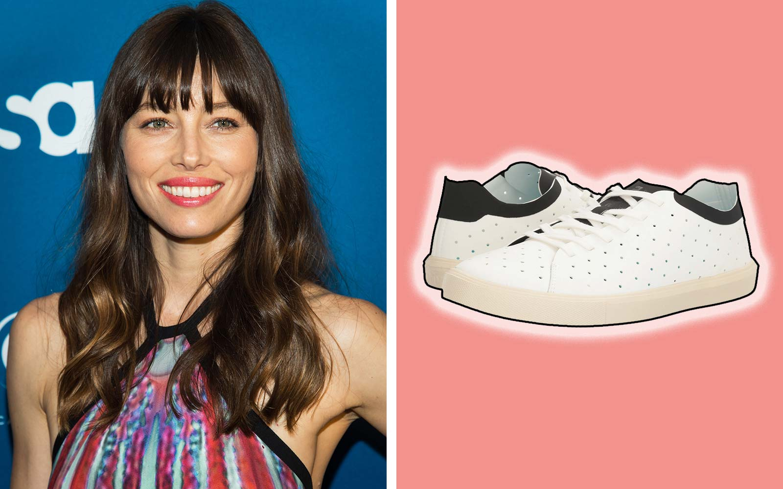 Jessica Biel Native Shoes Comfortable Travel Sneakers