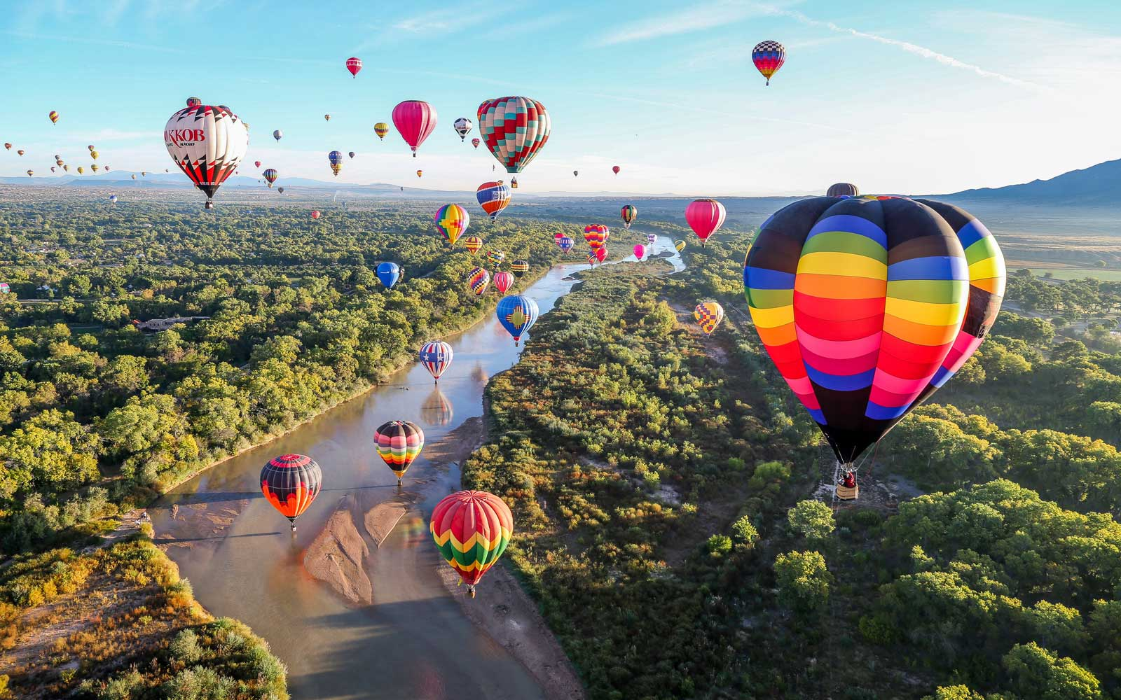 New Mexico Hot Air Balloon Festival