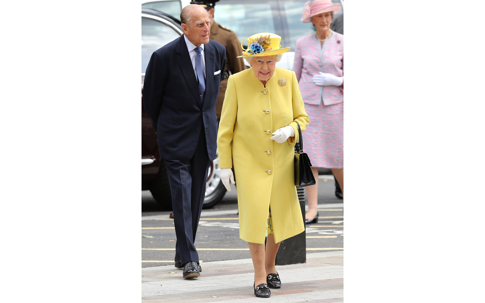 The Queen And Duke Of Edinburgh Open The New Headquarters Of The Metropolitan Police