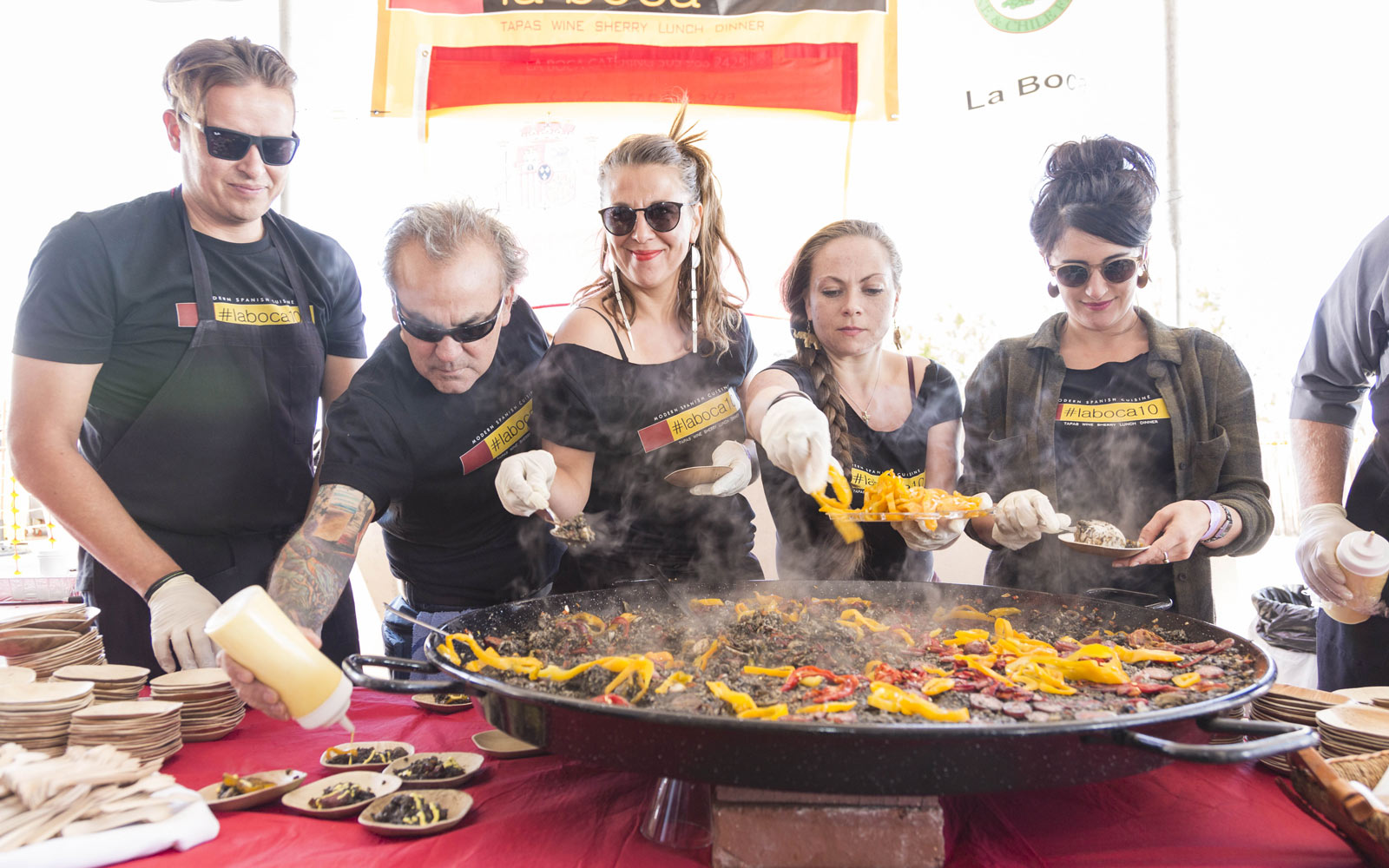 Santa Fe Wine and Chile Fiesta in New Mexico