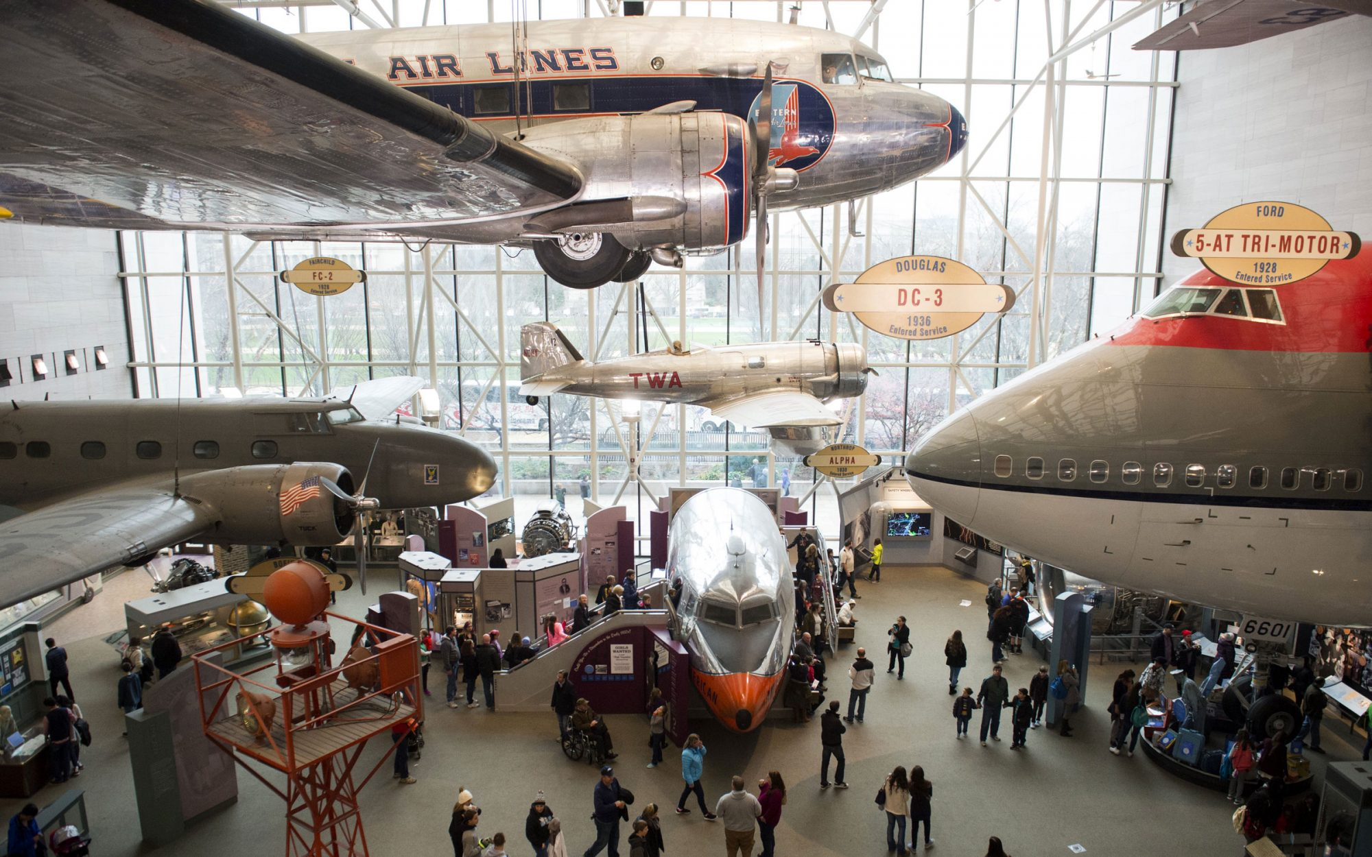 6. Smithsonian National Air and Space Museum in Washington, D.C.
