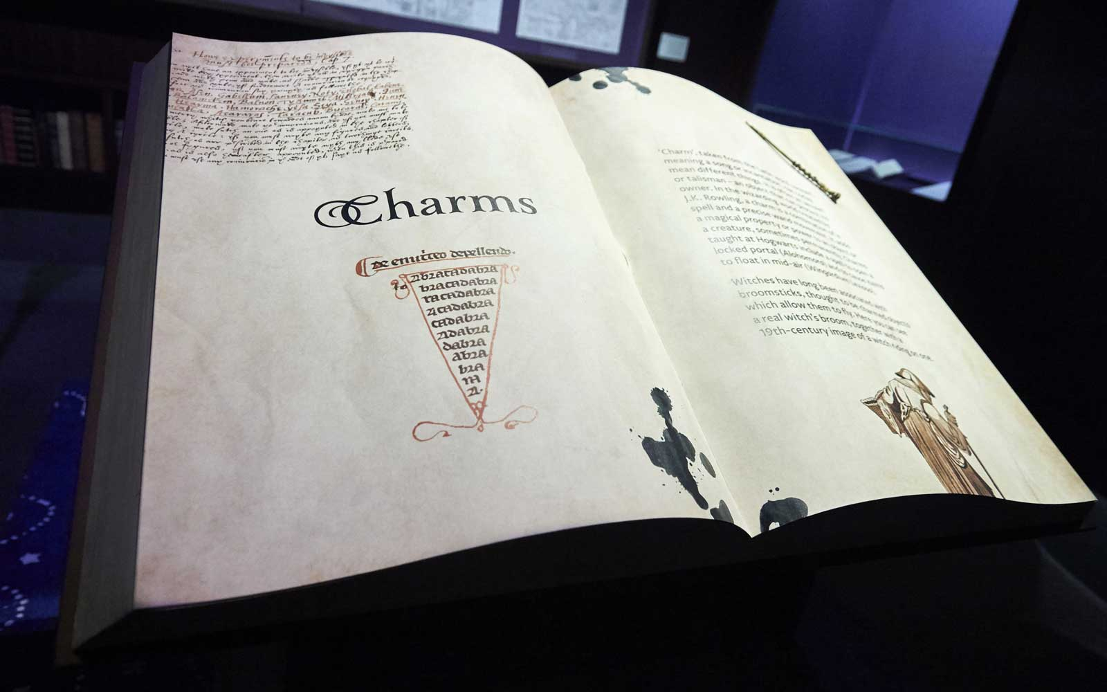Harry Potter, History of Magic Exhibition, British Library