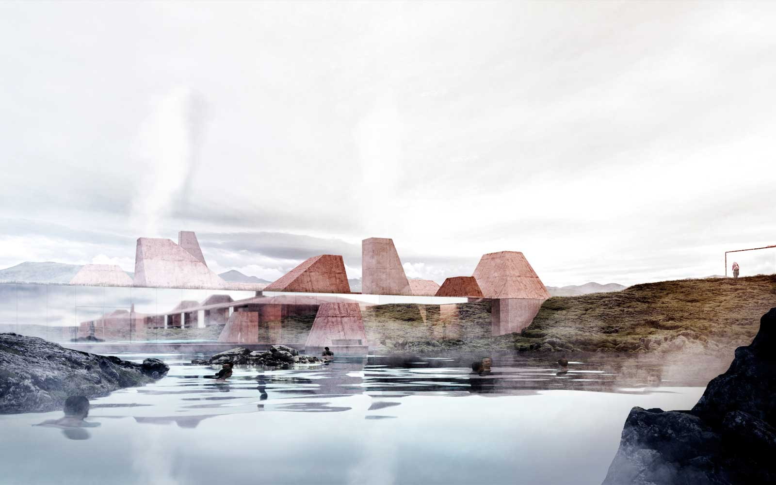 Red Mountain Resort Iceland Renderings