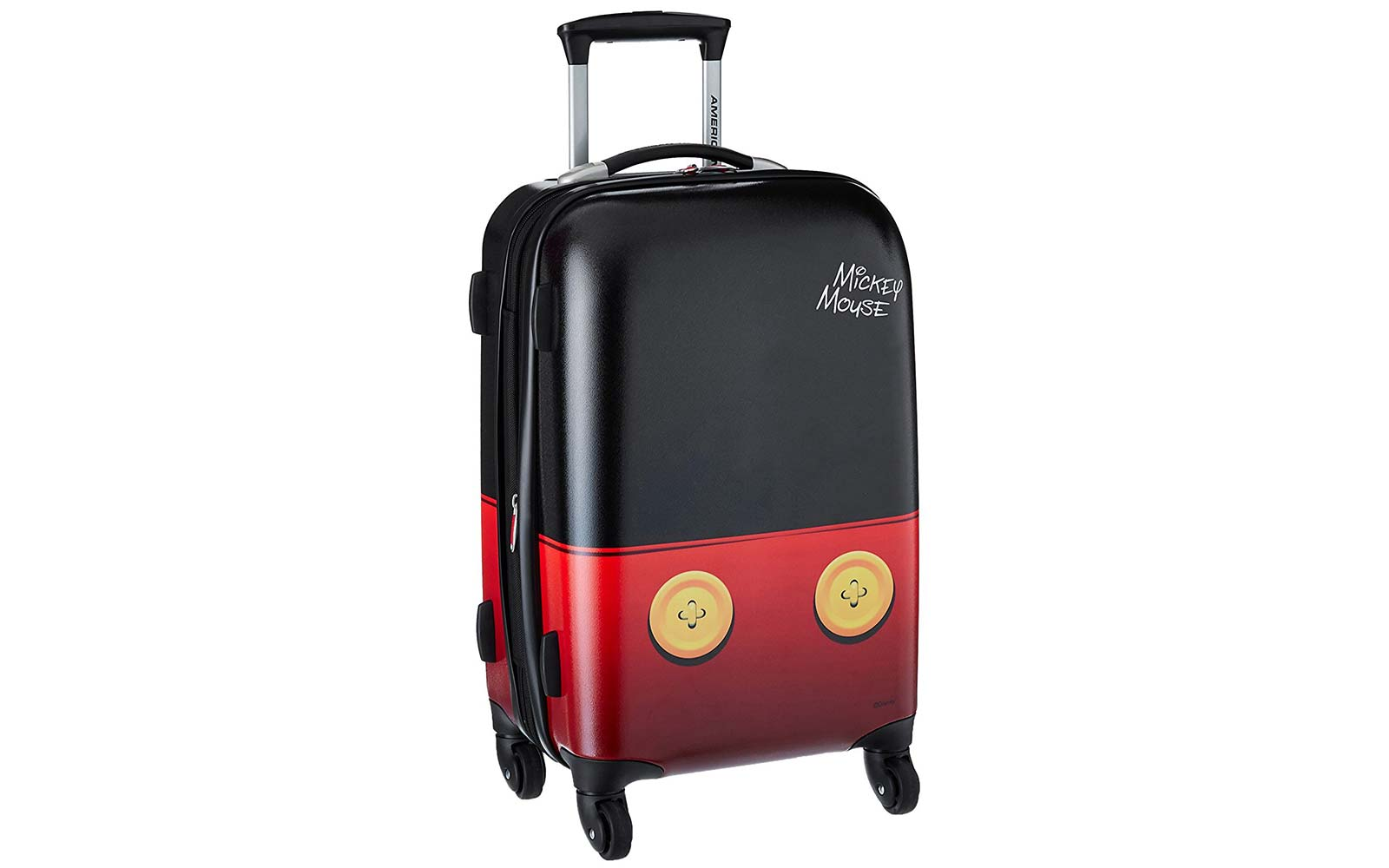american tourister disney mickey mouse spinner suitcase