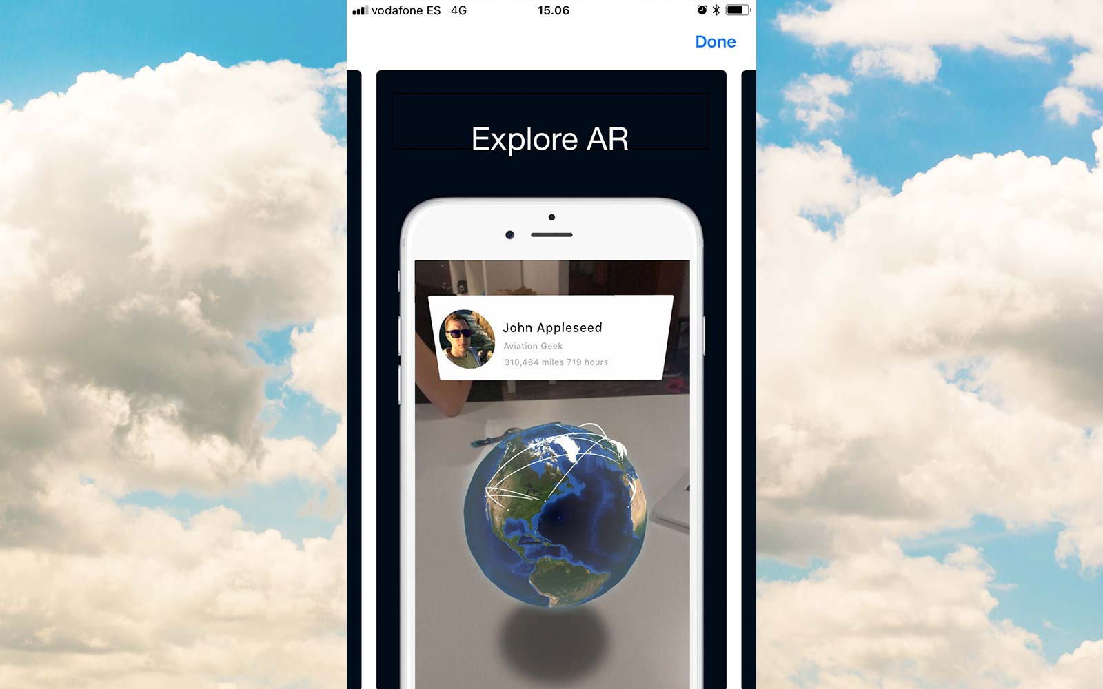 app in the air phone flight booking