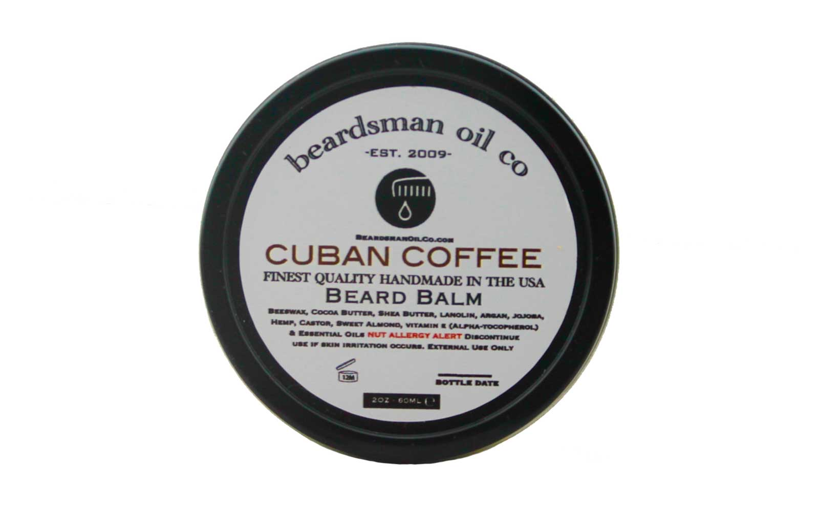 Coffee Beard Balm from Beardsman Oil Co