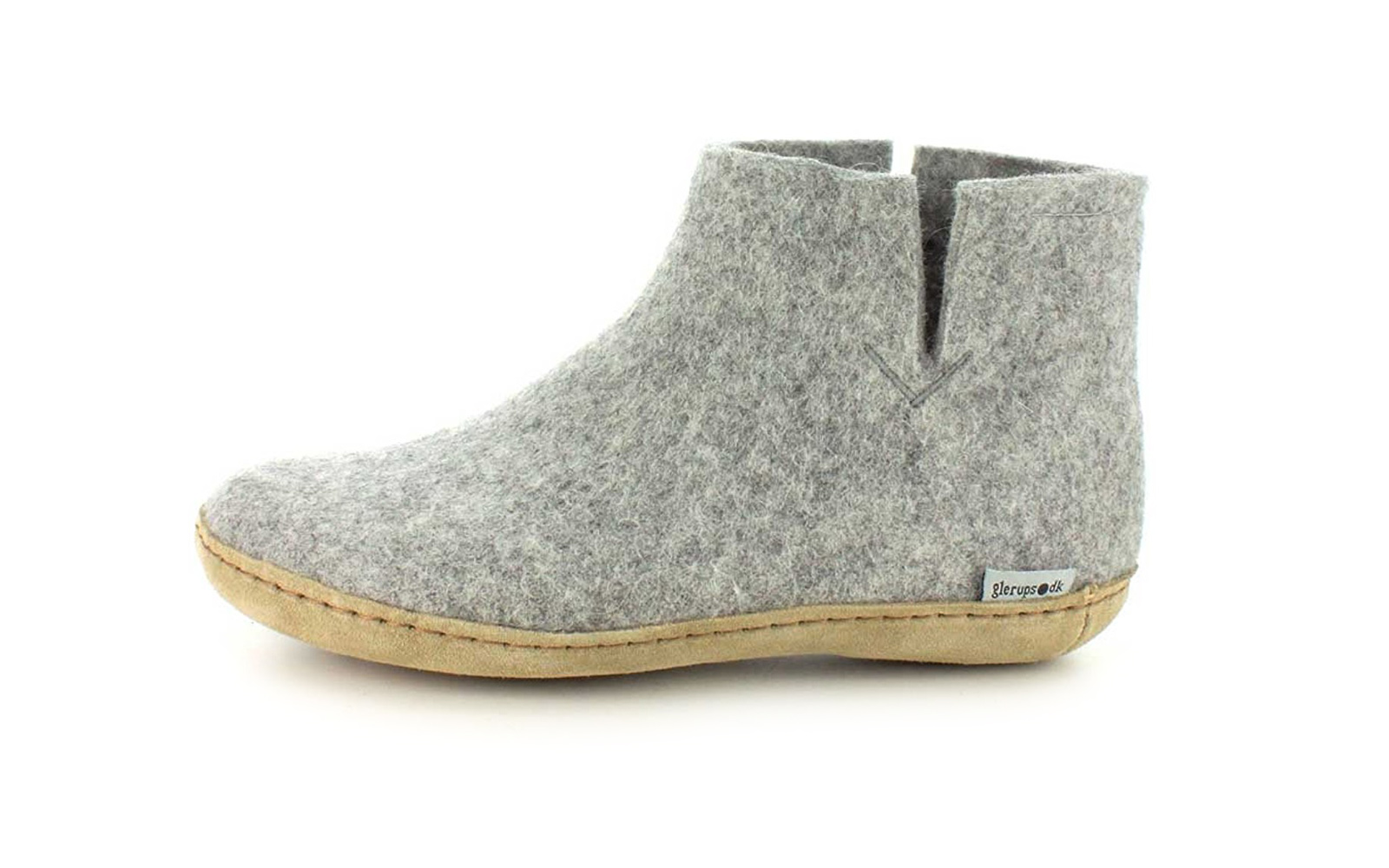 Gierups Natural Wool Slipper Boots
