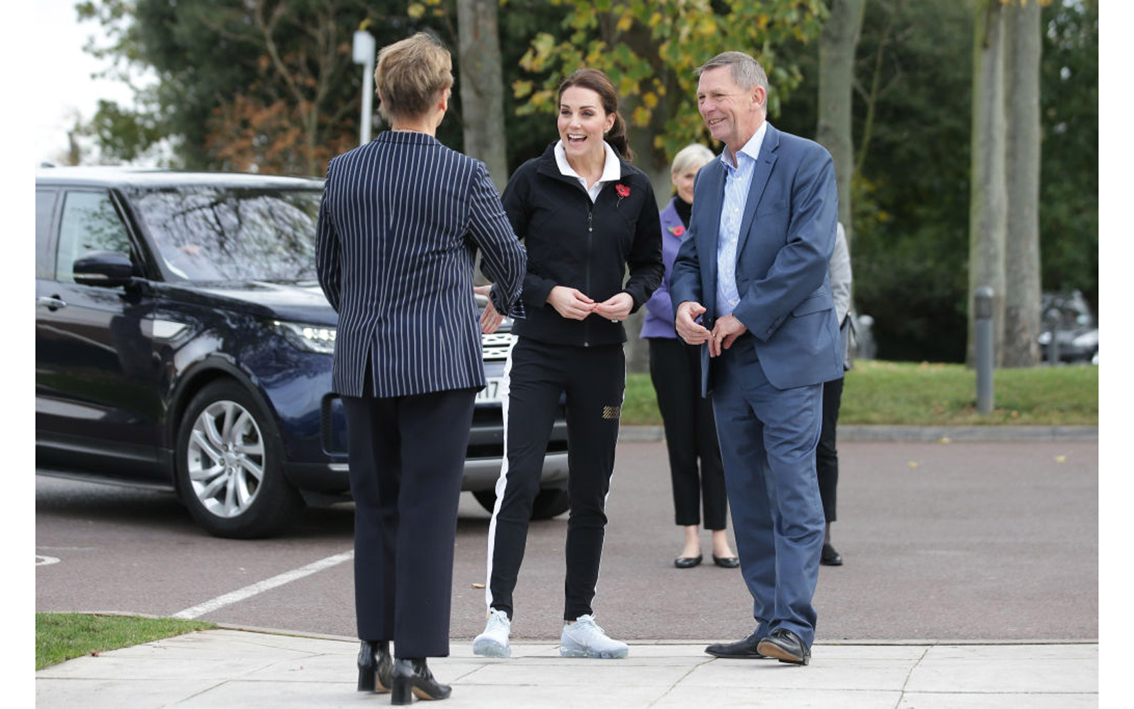 The Duchess Of Cambridge Visits The Lawn Tennis Association
