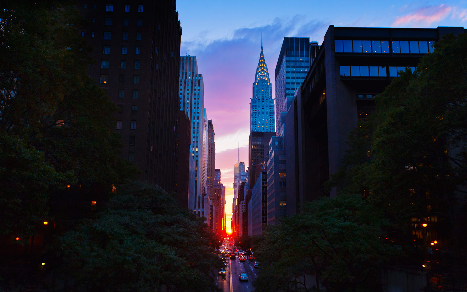 Manhattanhenge, New York City