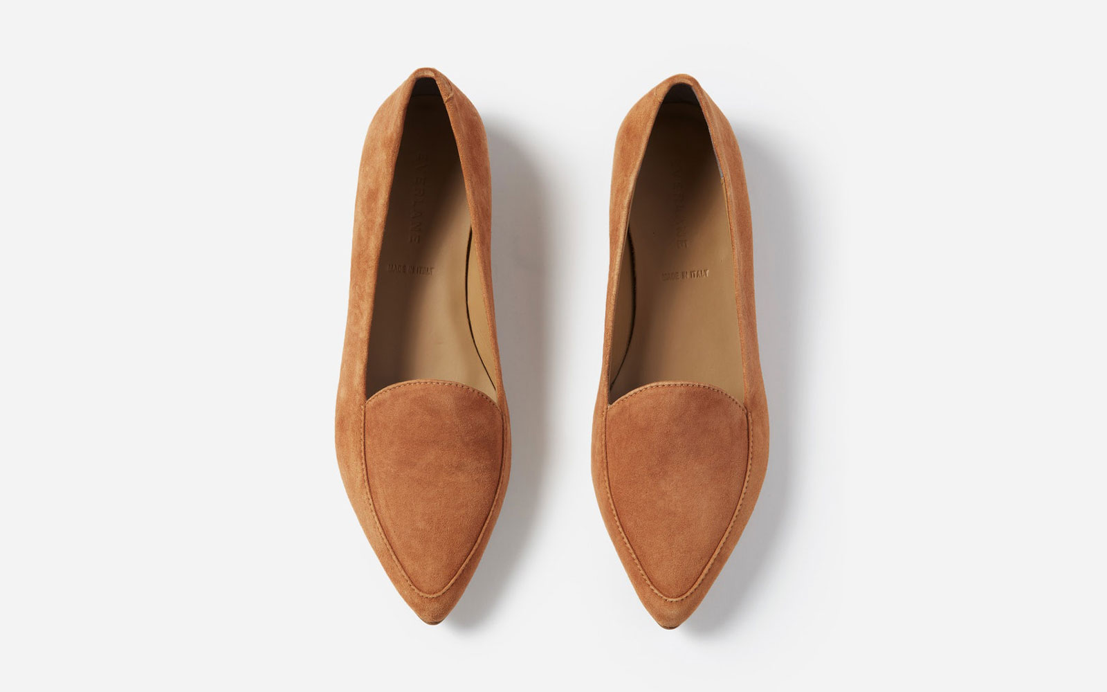 Everlane's pointed flats