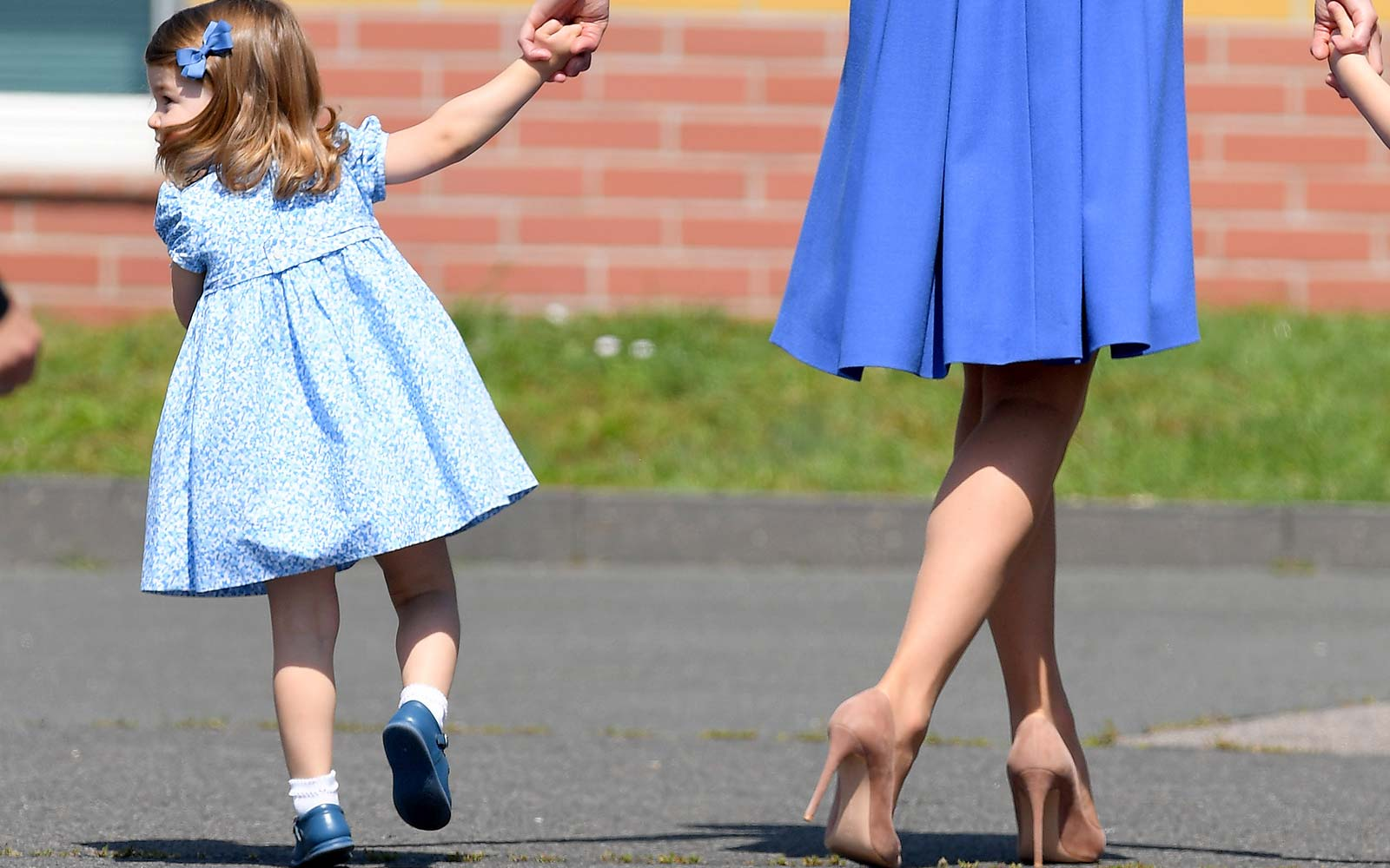 princess charlotte royal uk footwear shoes fashion style