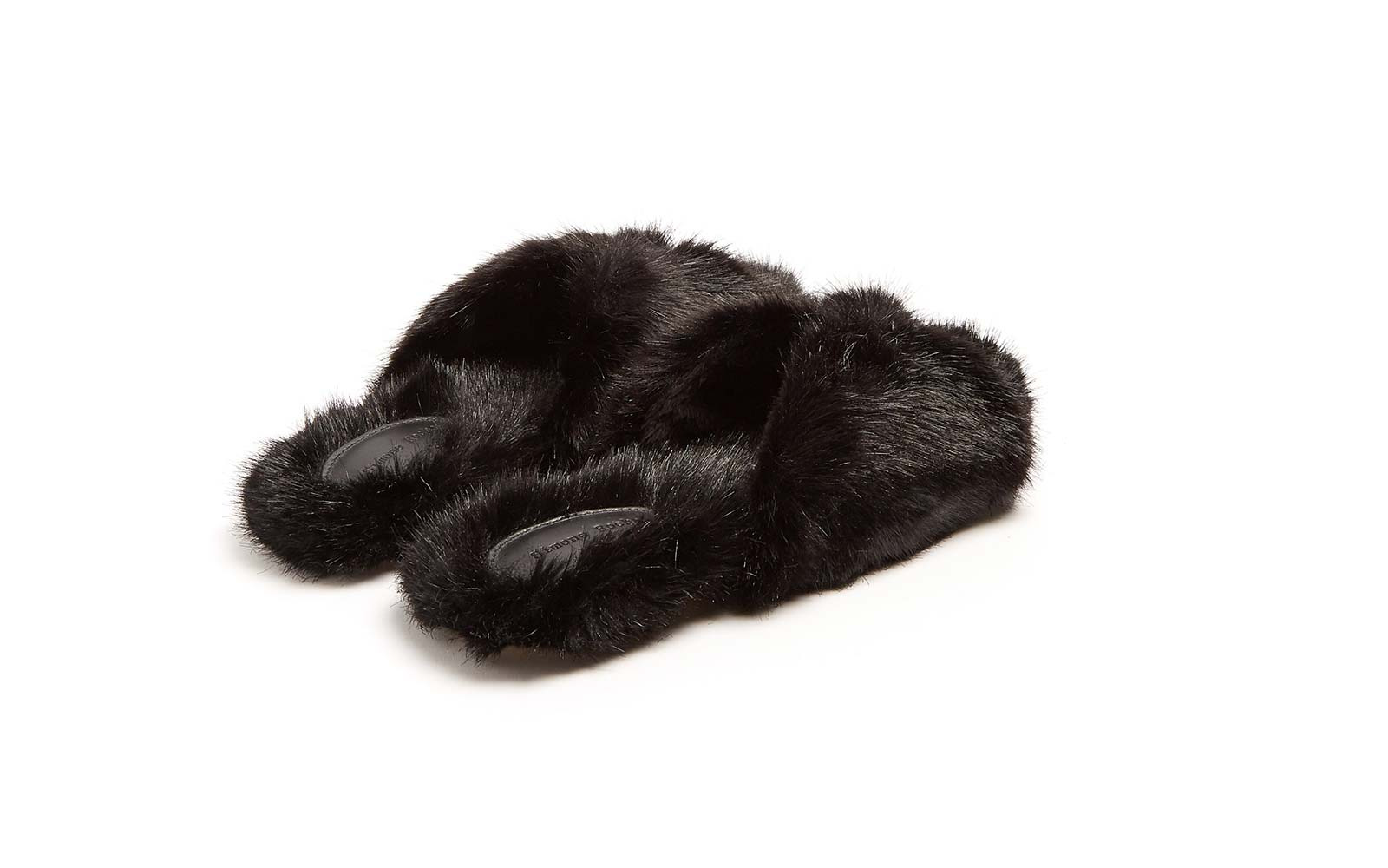 Simone Rocha Faux-fur Slide Sandals