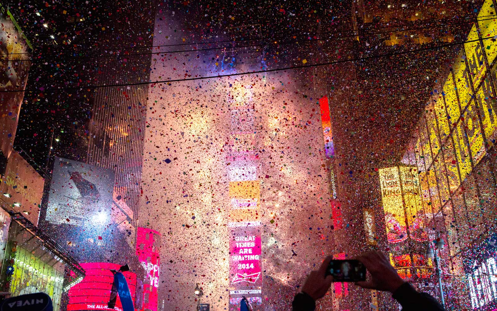 New Years Eve, Times Square, New York City