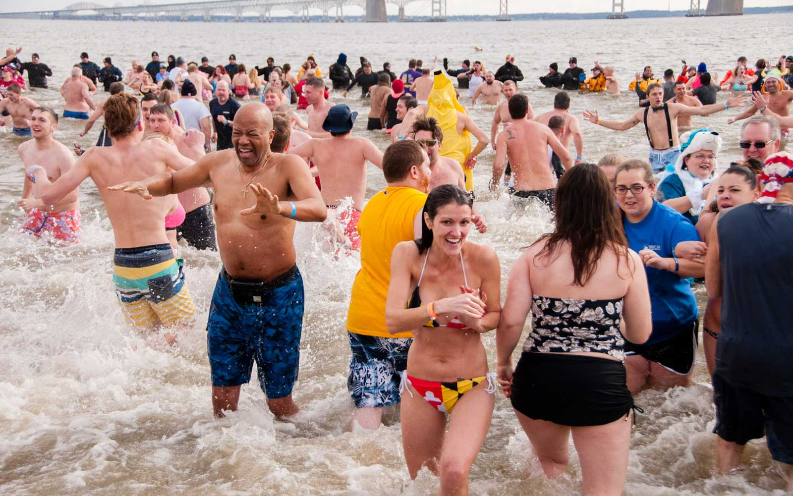 Polar Bear Plunge Annapolis Maryland