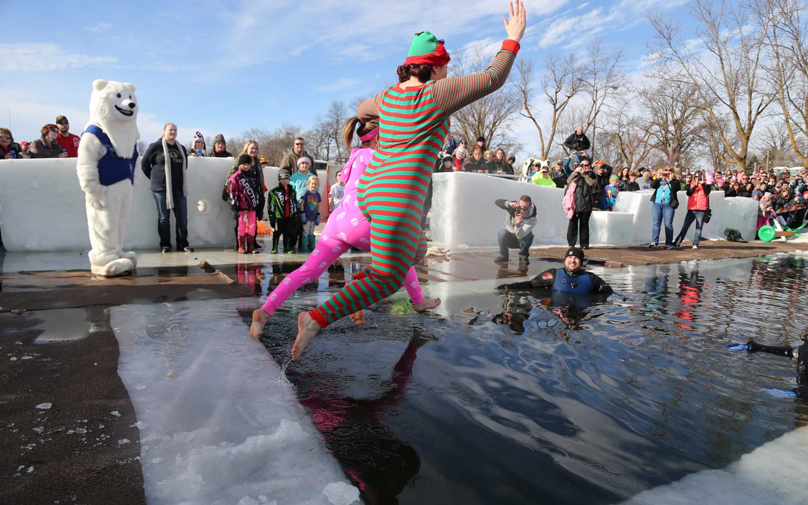 Polar Bear Plunge Detroit Lakes Minnesota